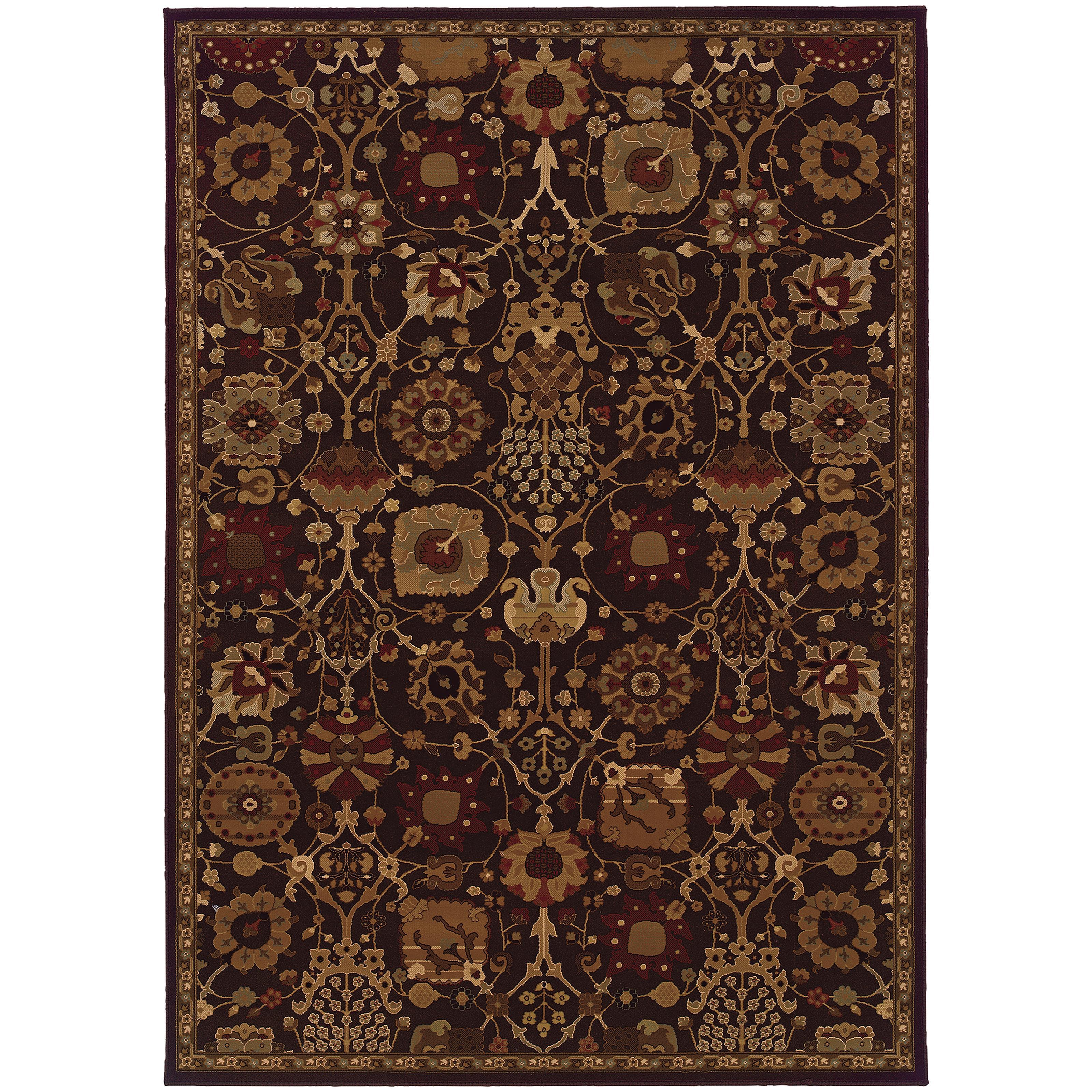 """Oriental Weavers Cambridge 5' 3"""" X  7' 6"""" Rug - Item Number: C4520N160230ST"""