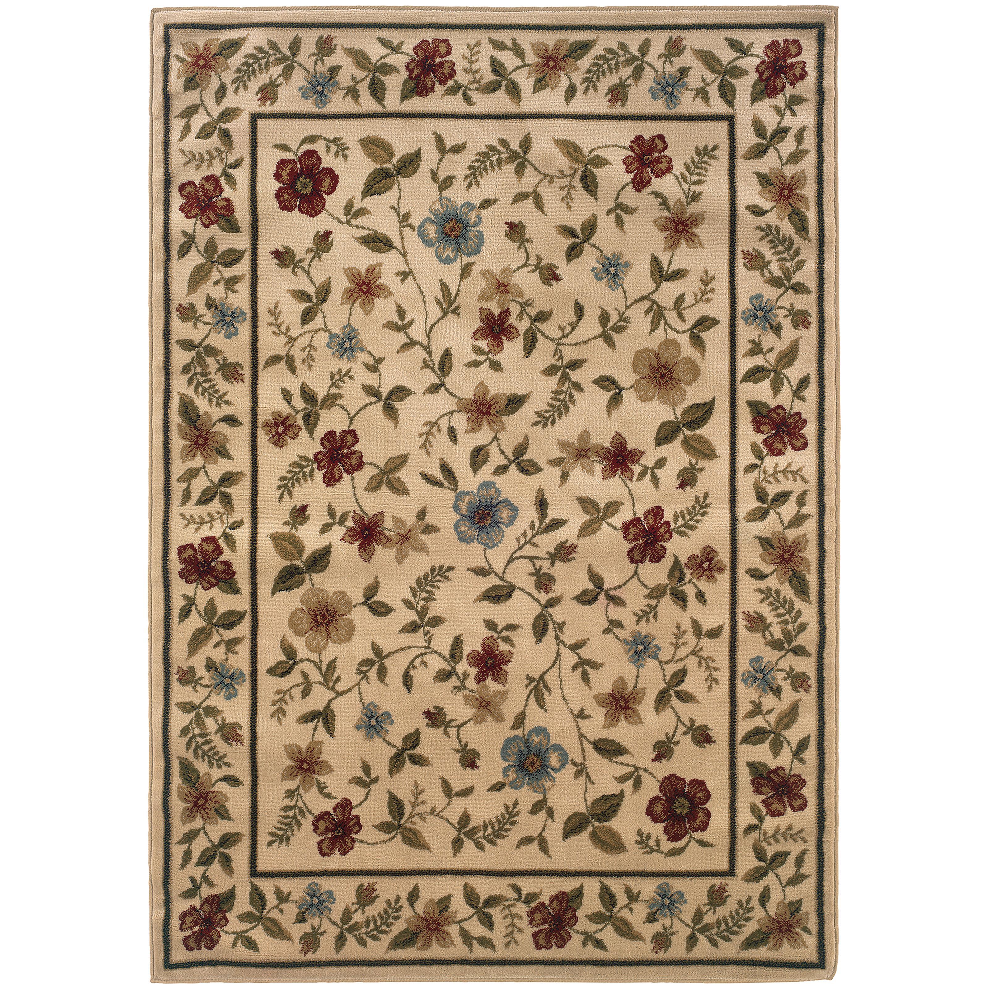 "Oriental Weavers Camden 5' 0"" X  7' 3"" Rug - Item Number: C1196C152220ST"