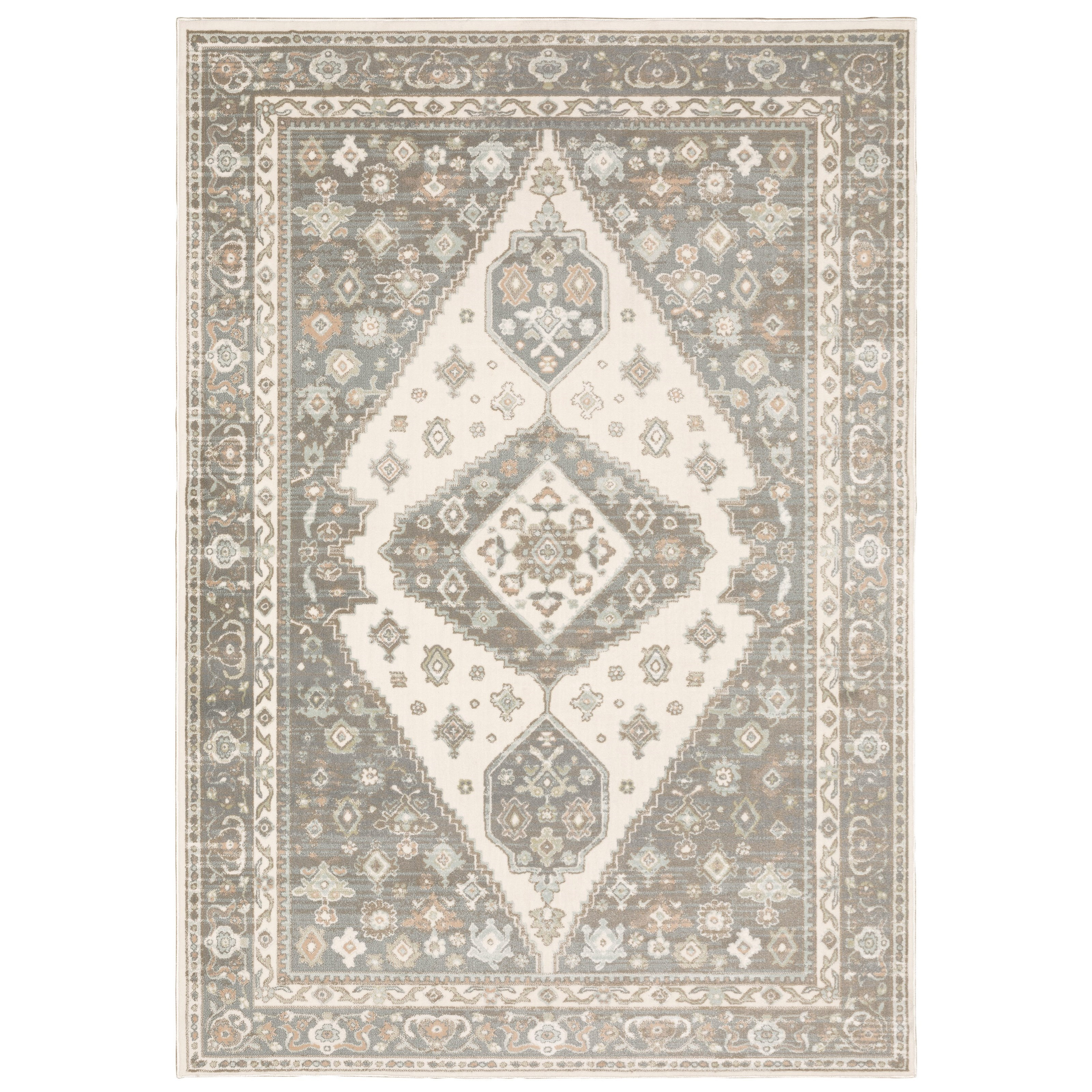 """Capistrano 6' 7"""" X  9' 6"""" Rectangle Rug by Oriental Weavers at Darvin Furniture"""