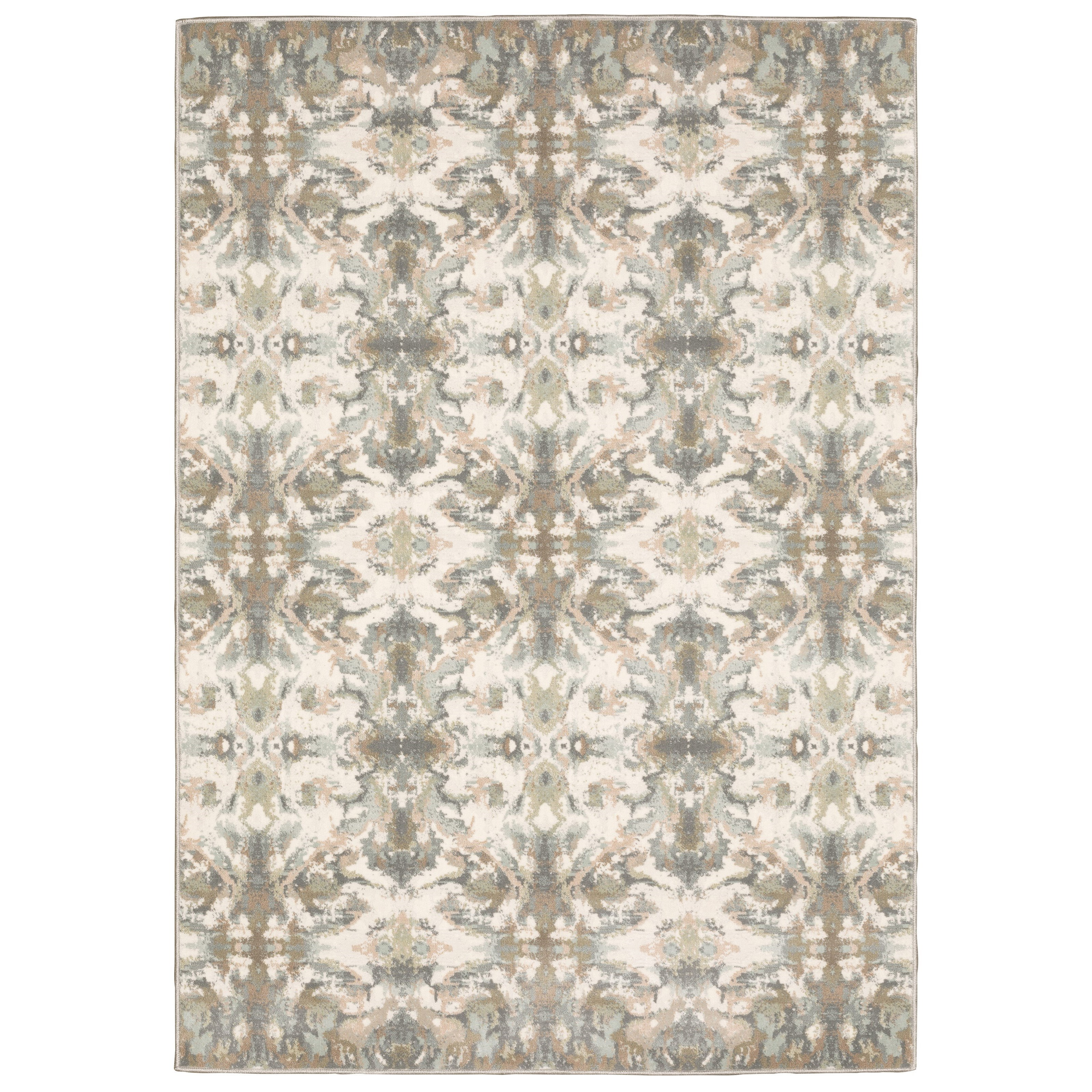 "Capistrano 6' 7"" X  9' 6"" Rectangle Rug by Oriental Weavers at Darvin Furniture"