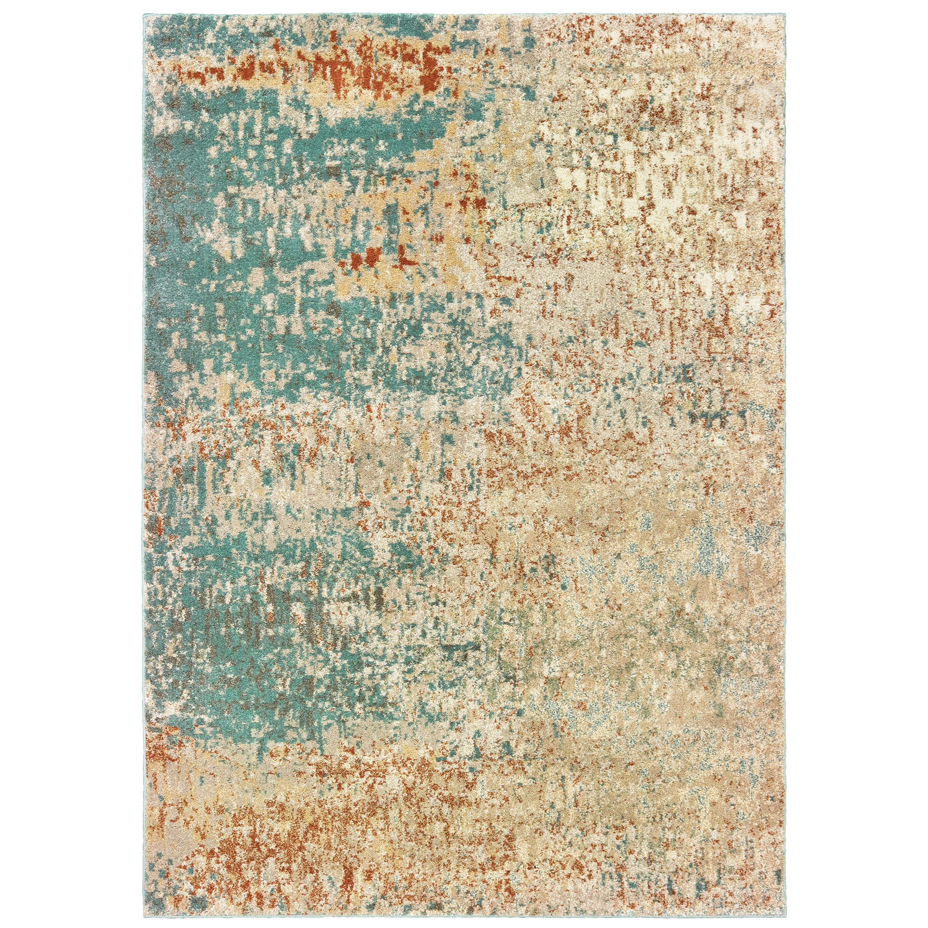 """Carson OW 5' 3"""" X  7' 3"""" Rectangle Rug by Oriental Weavers at Darvin Furniture"""