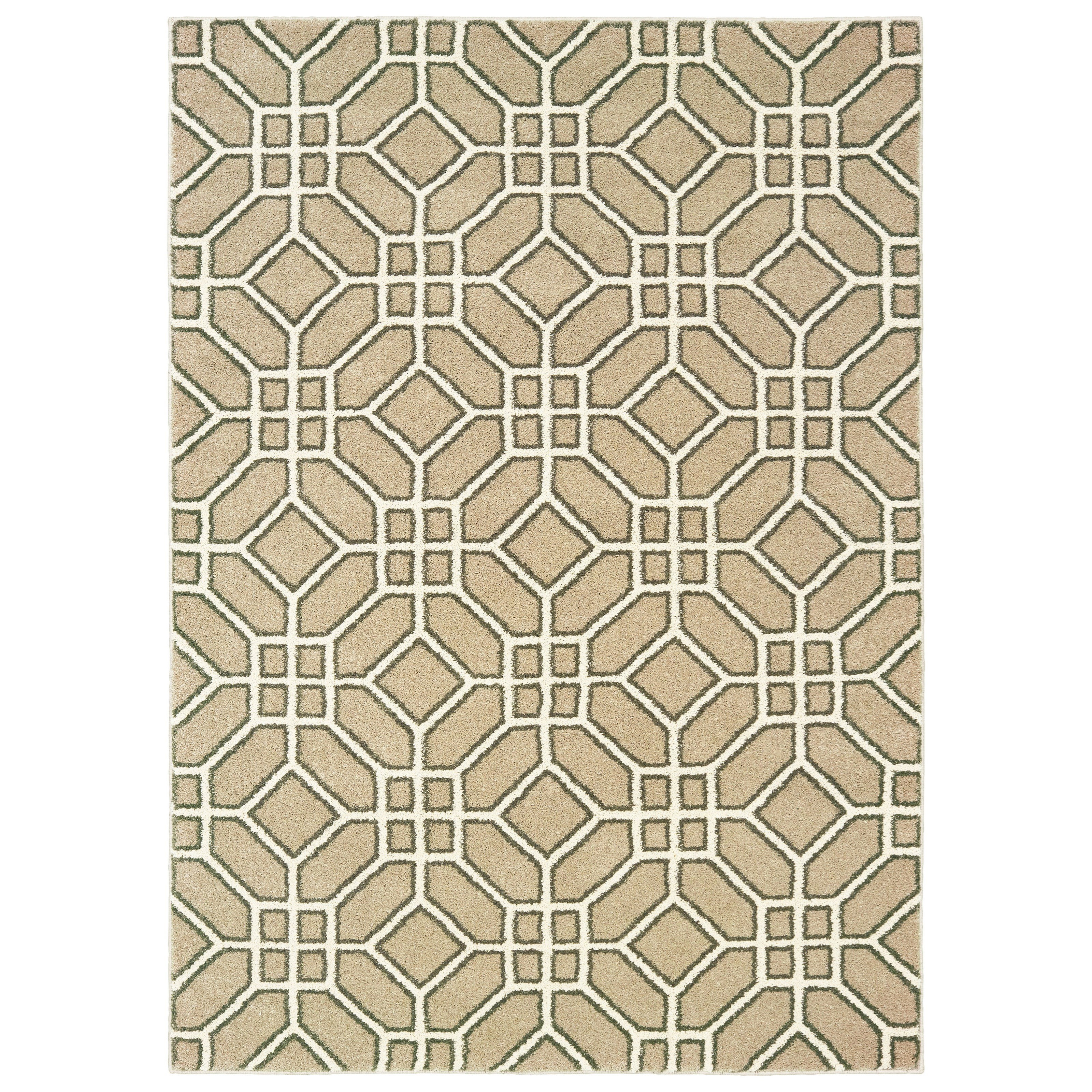 "Carson OW 6' 7"" X  9' 2"" Rectangle Rug by Oriental Weavers at Darvin Furniture"
