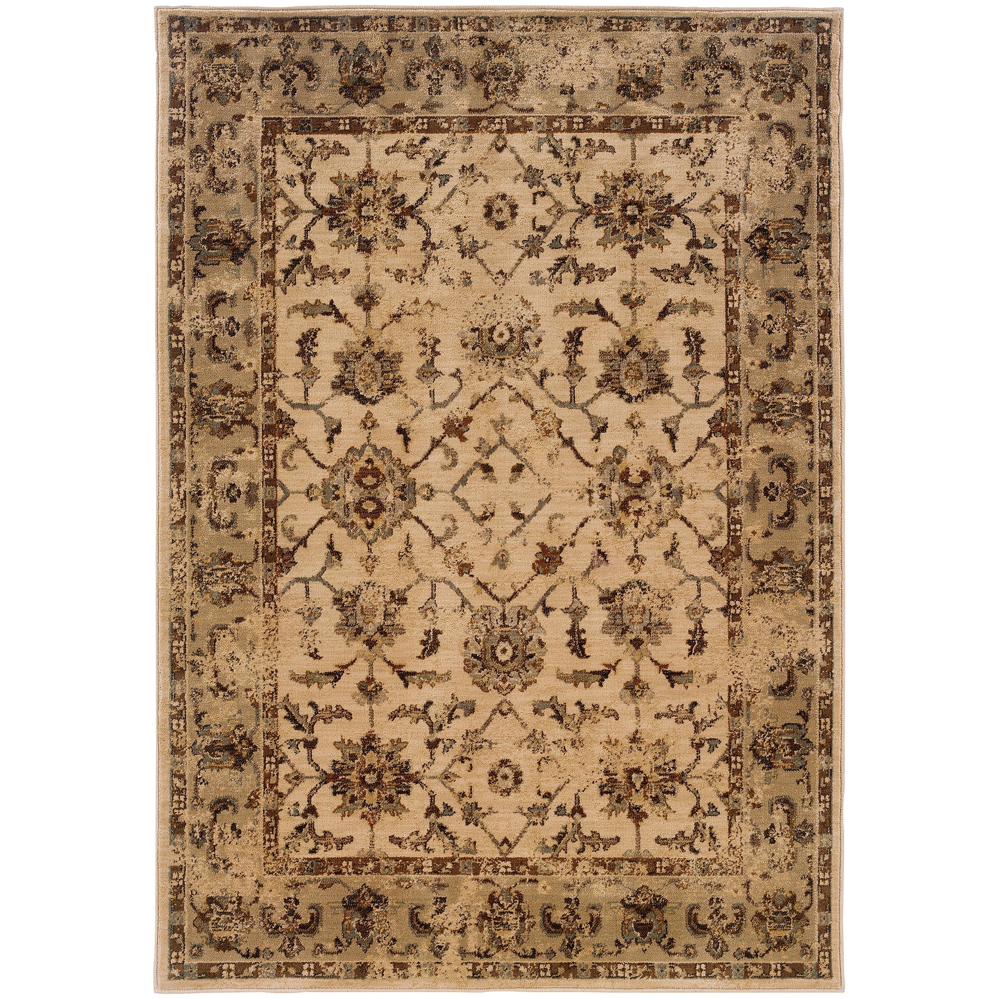 "Oriental Weavers Casablanca 1'10"" X  3' 3"" Rug - Item Number: C1376E058100ST"