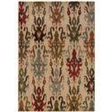 "Oriental Weavers Casablanca 3'10"" X  5' 5"" Rug - Item Number: C4437A117165ST"