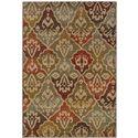 """Oriental Weavers Casablanca 5' 3"""" X  7' 6"""" Rug - Item Number: C4442C160230ST"""