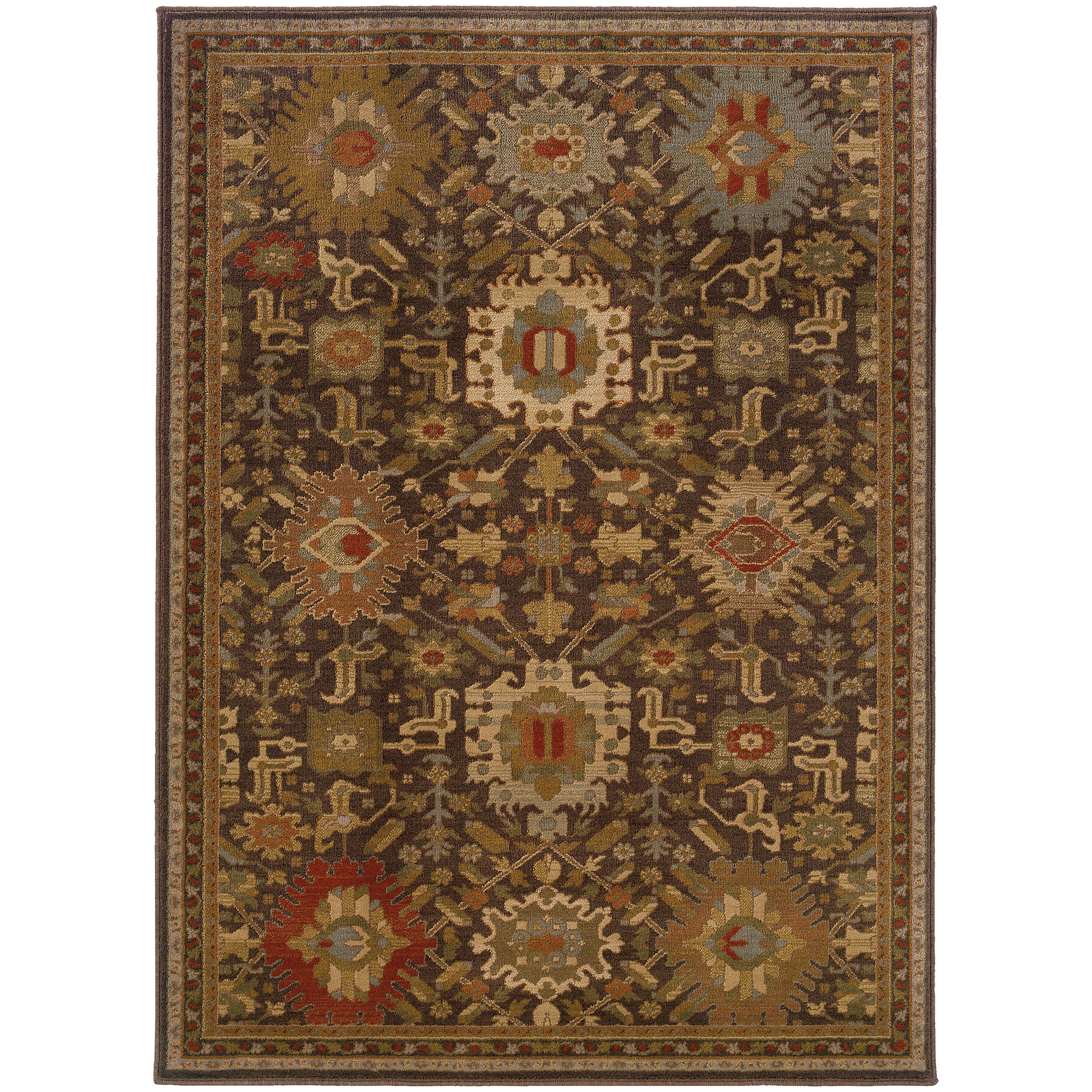 "Oriental Weavers Casablanca 9'10"" X 12'10"" Rug - Item Number: C4444A300390ST"