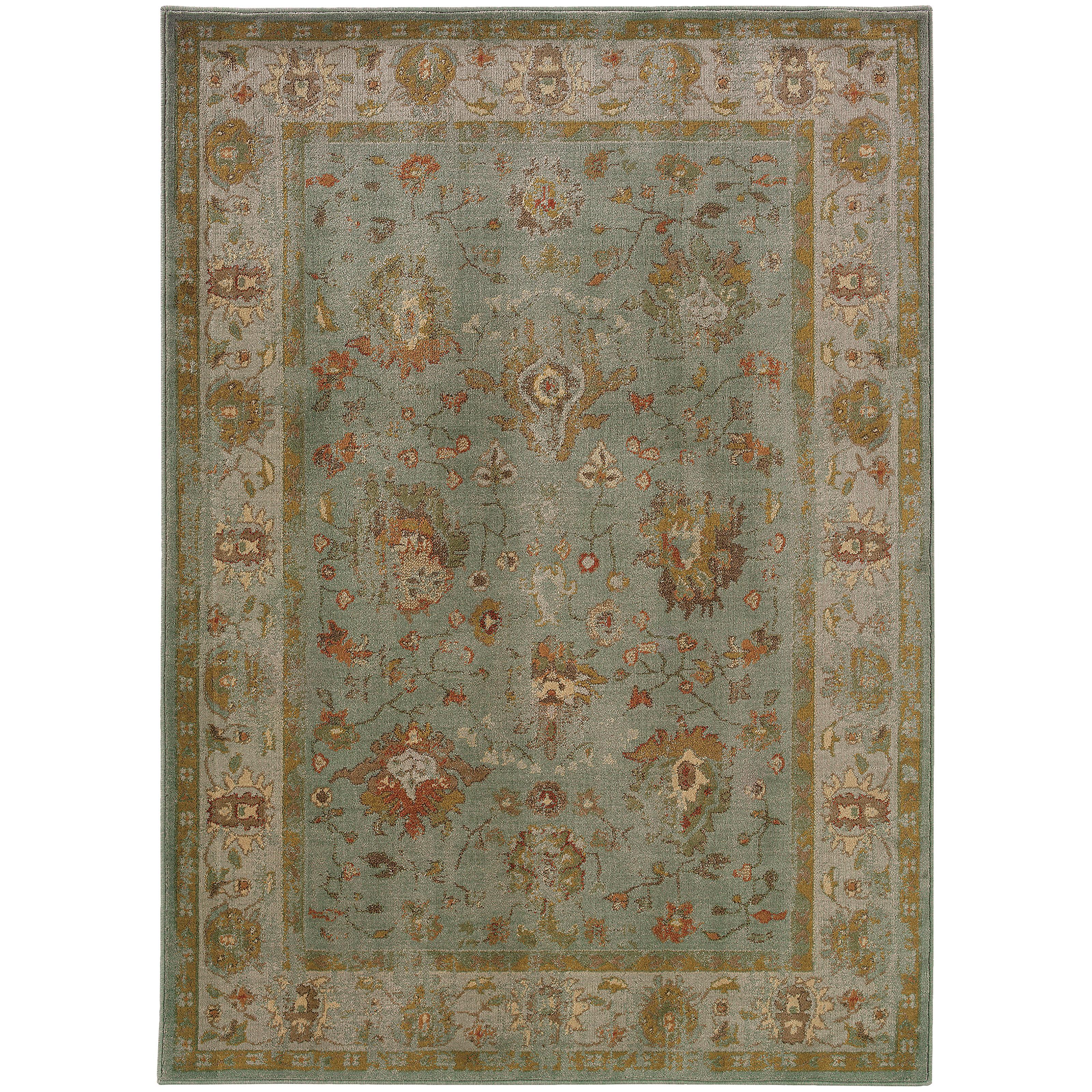 """Oriental Weavers Casablanca 3'10"""" X  5' 5"""" Rug - Item Number: C4446C117165ST"""