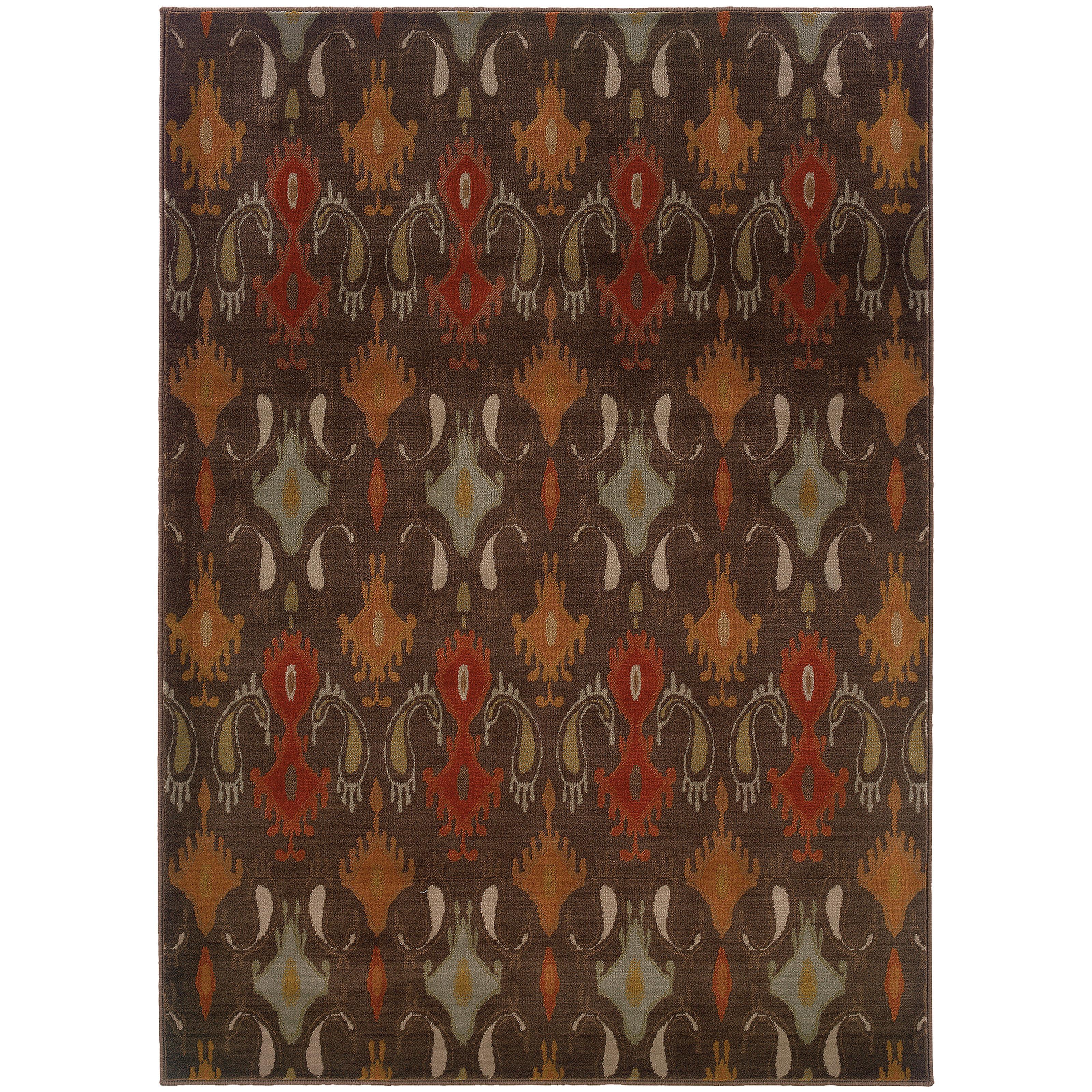 "Oriental Weavers Casablanca 3'10"" X  5' 5"" Rug - Item Number: C4447A117165ST"