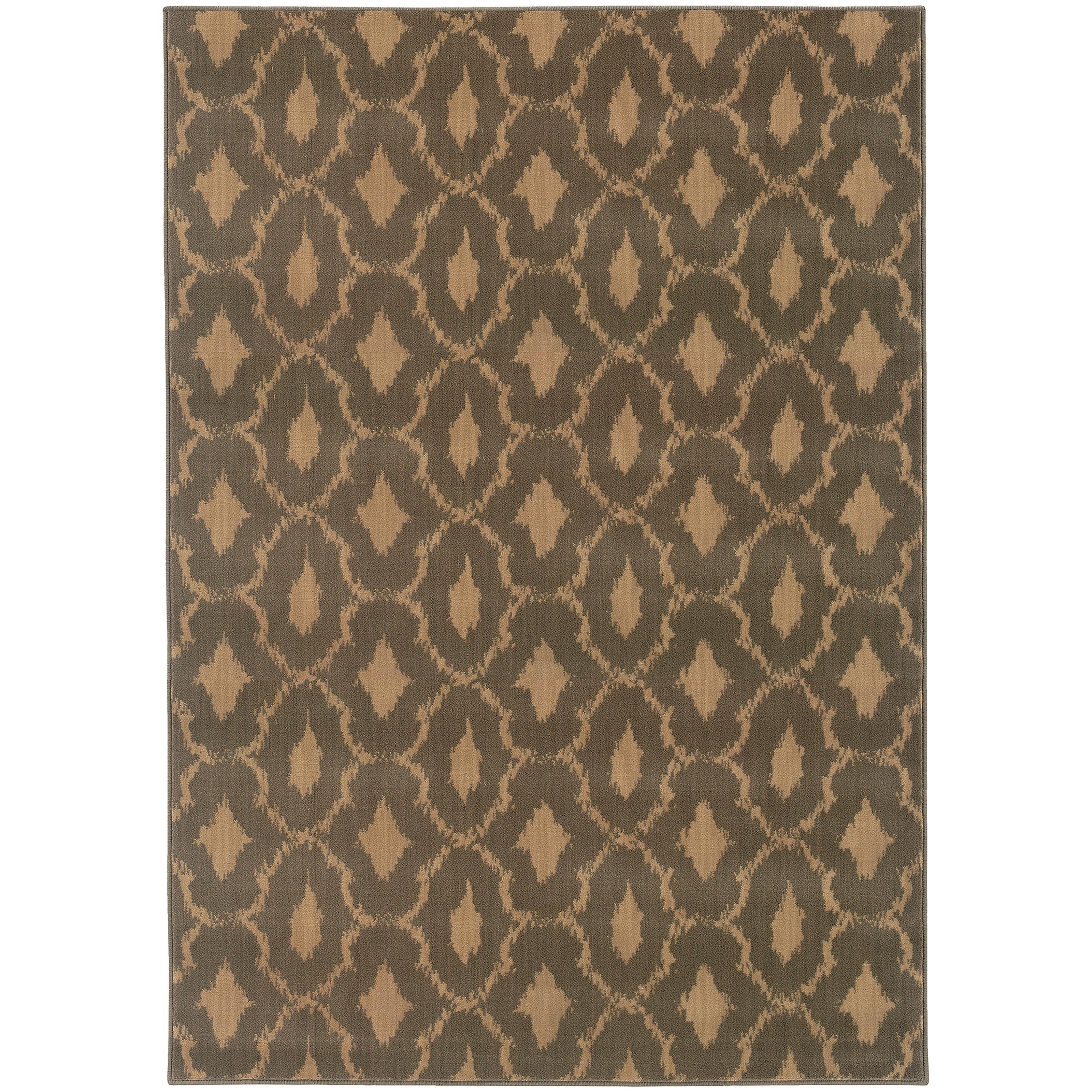 "Oriental Weavers Casablanca 3'10"" X  5' 5"" Rug - Item Number: C4453A117165ST"