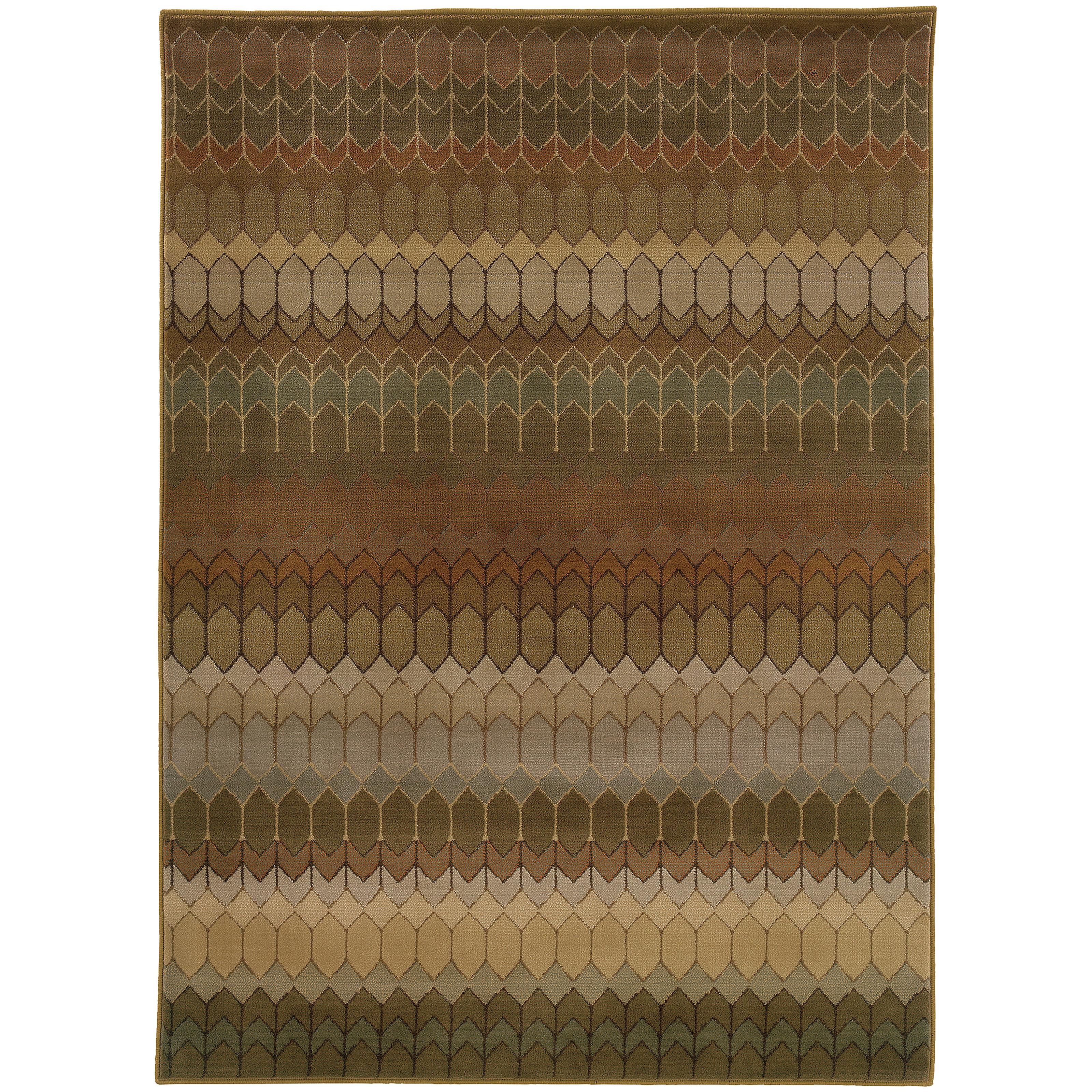 "Oriental Weavers Casablanca 3'10"" X  5' 5"" Rug - Item Number: C4455A117165ST"