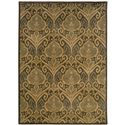 "Oriental Weavers Casablanca 1'10"" X  3' 3"" Rug - Item Number: C4464A058100ST"