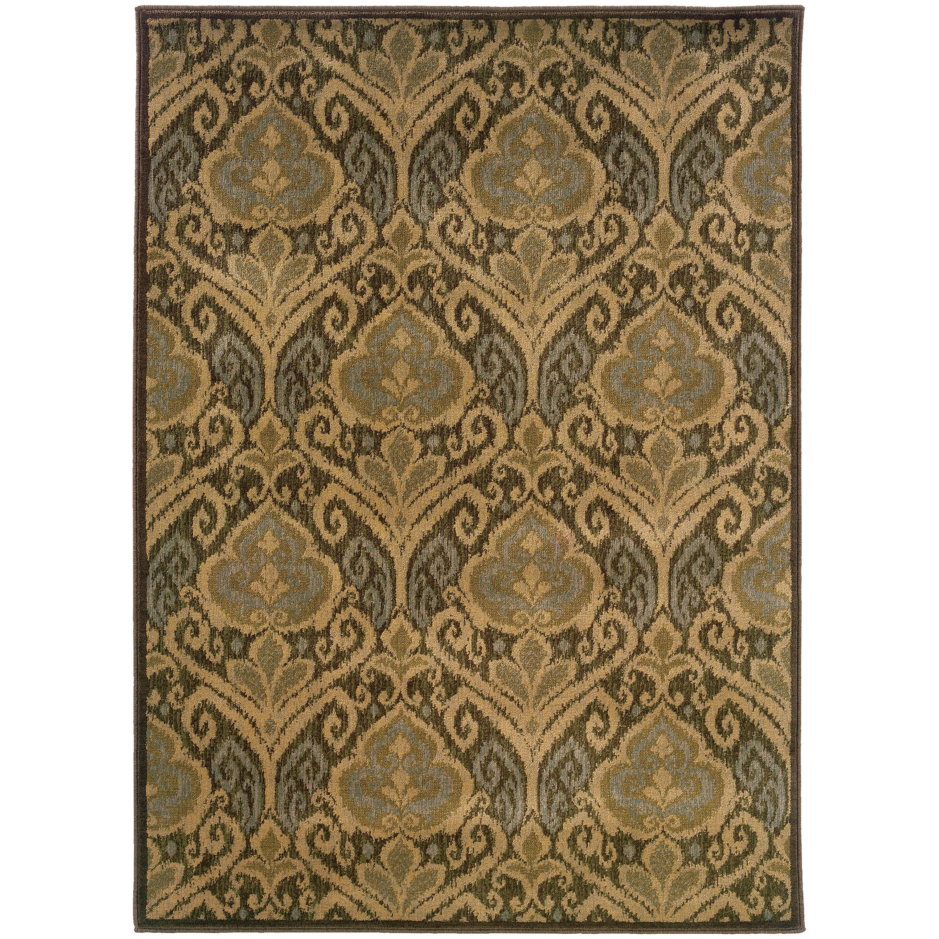"Oriental Weavers Casablanca 3'10"" X  5' 5"" Rug - Item Number: C4464A117165ST"