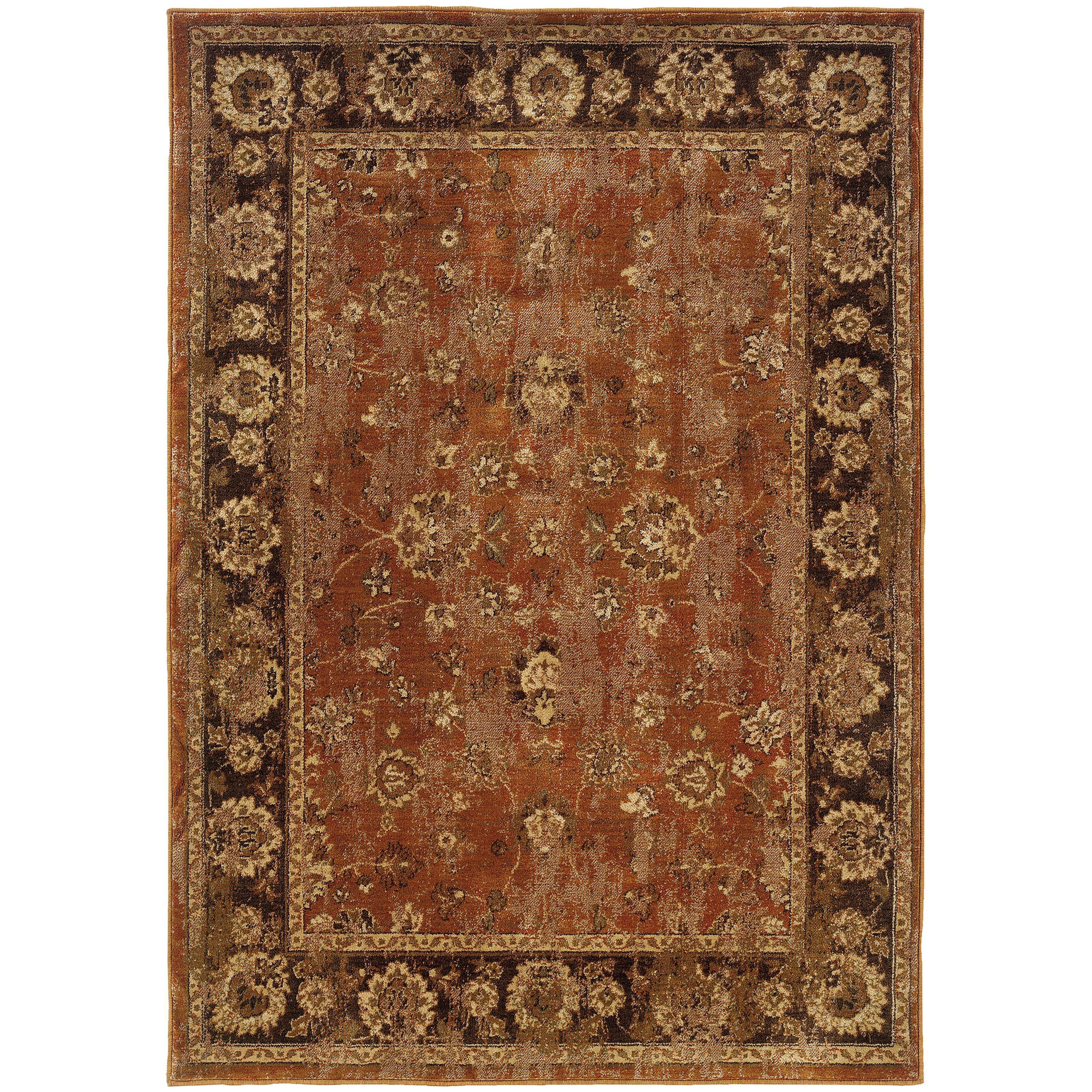 "Oriental Weavers Casablanca 3'10"" X  5' 5"" Rug - Item Number: C4465E117165ST"