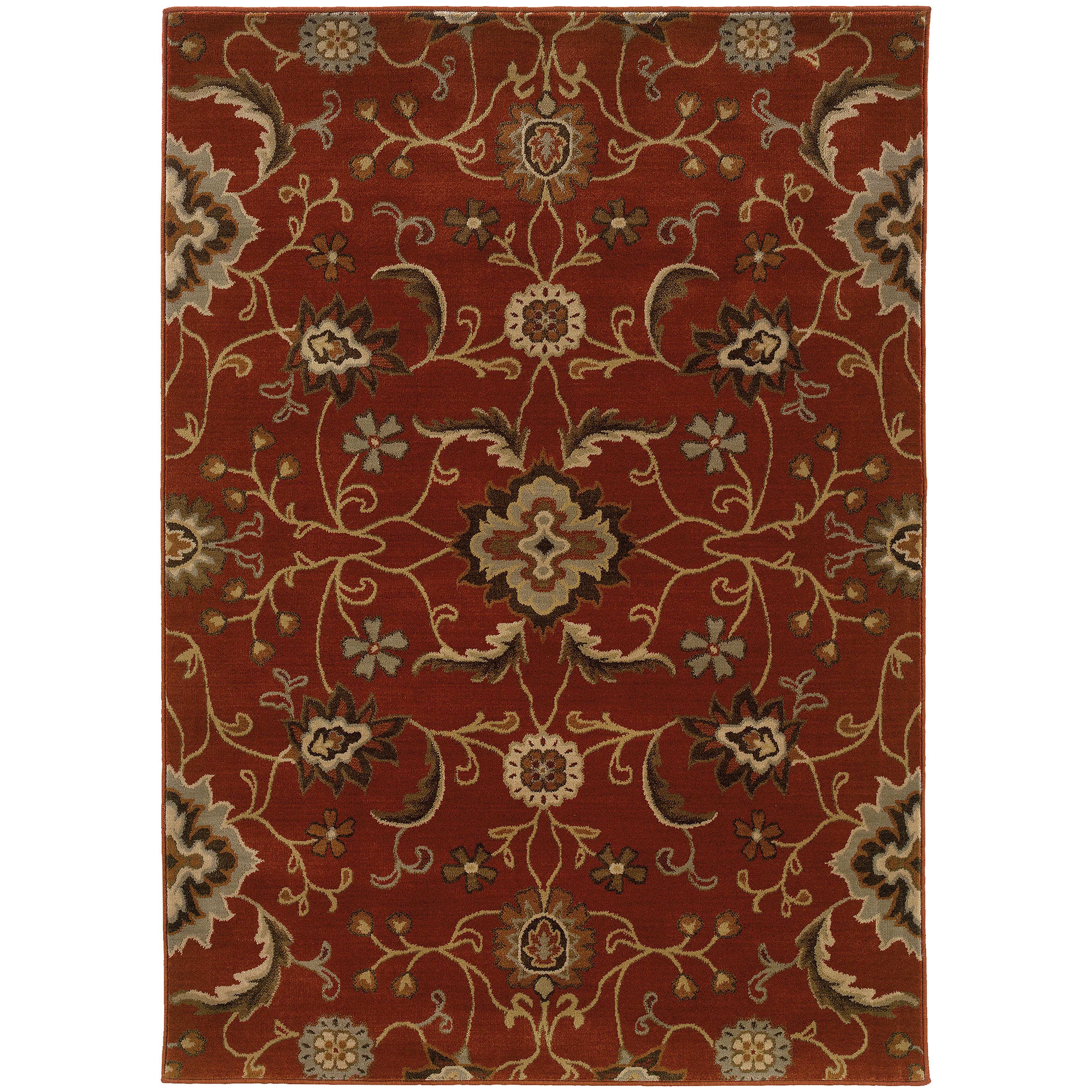 "Oriental Weavers Casablanca 3'10"" X  5' 5"" Rug - Item Number: C4471B117165ST"