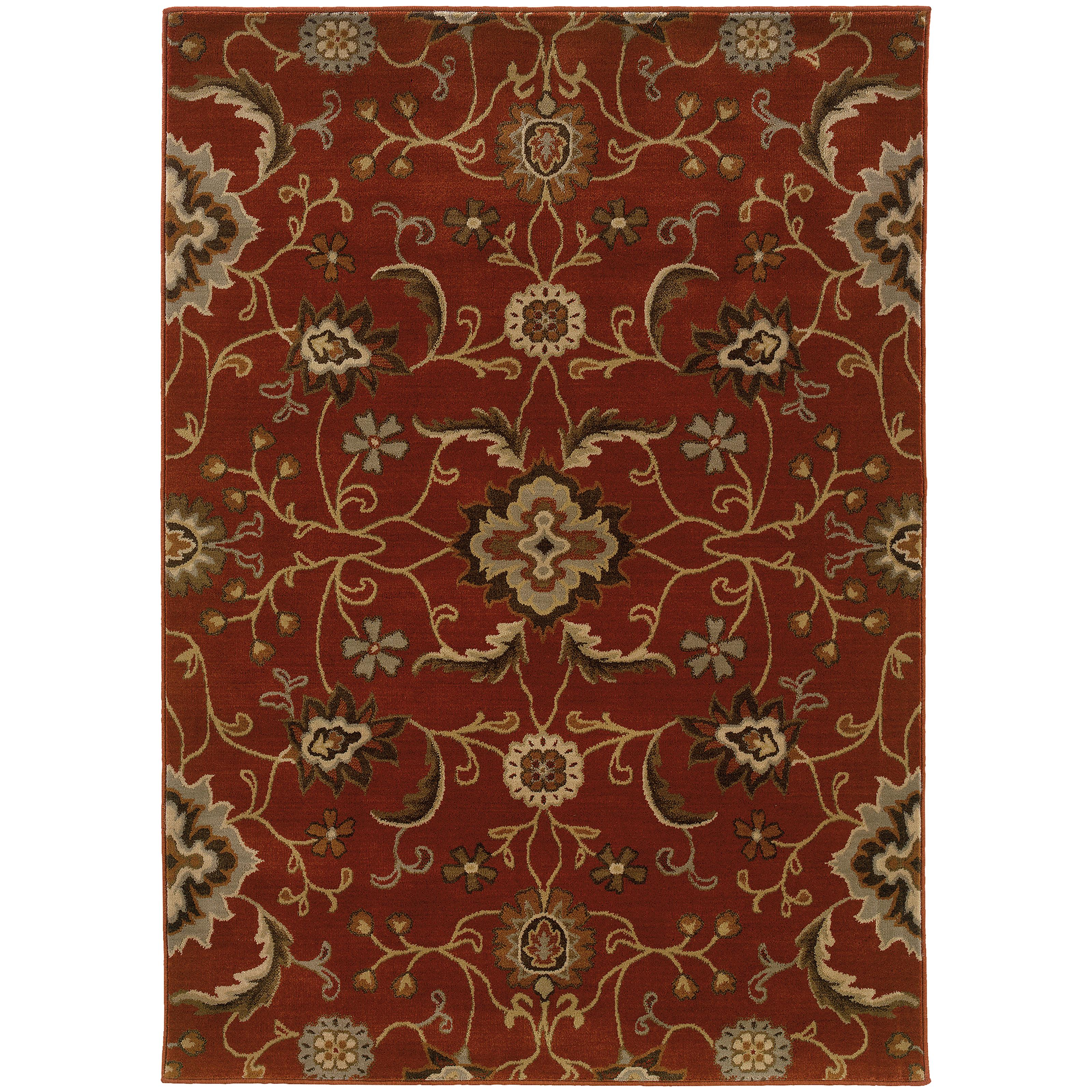 "Oriental Weavers Casablanca 5' 3"" X  7' 6"" Rug - Item Number: C4471B160230ST"