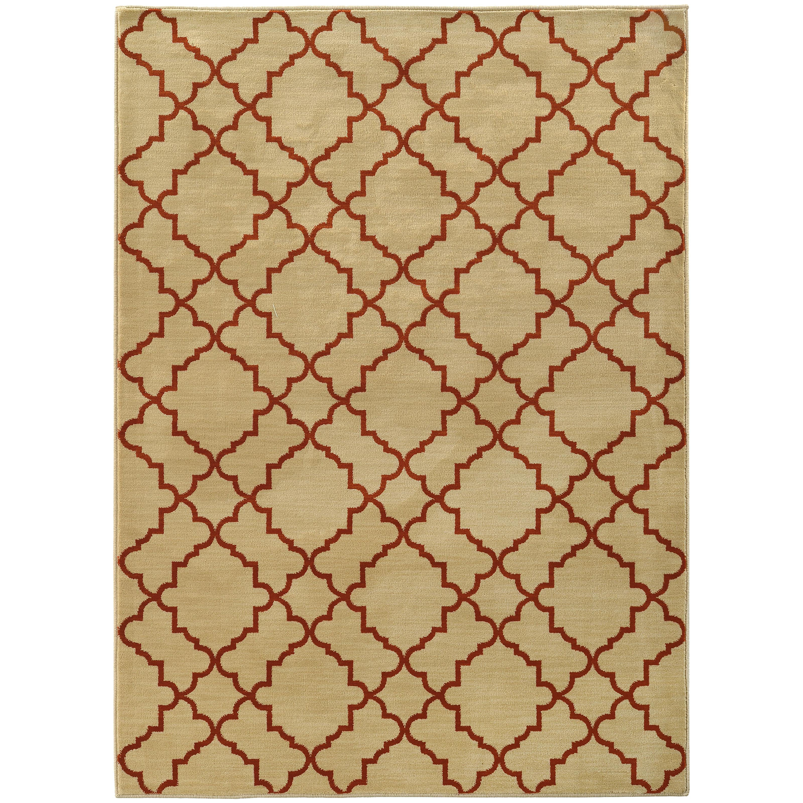 "Oriental Weavers Casablanca 5' 3"" X  7' 6"" Rug - Item Number: C5178E160230ST"