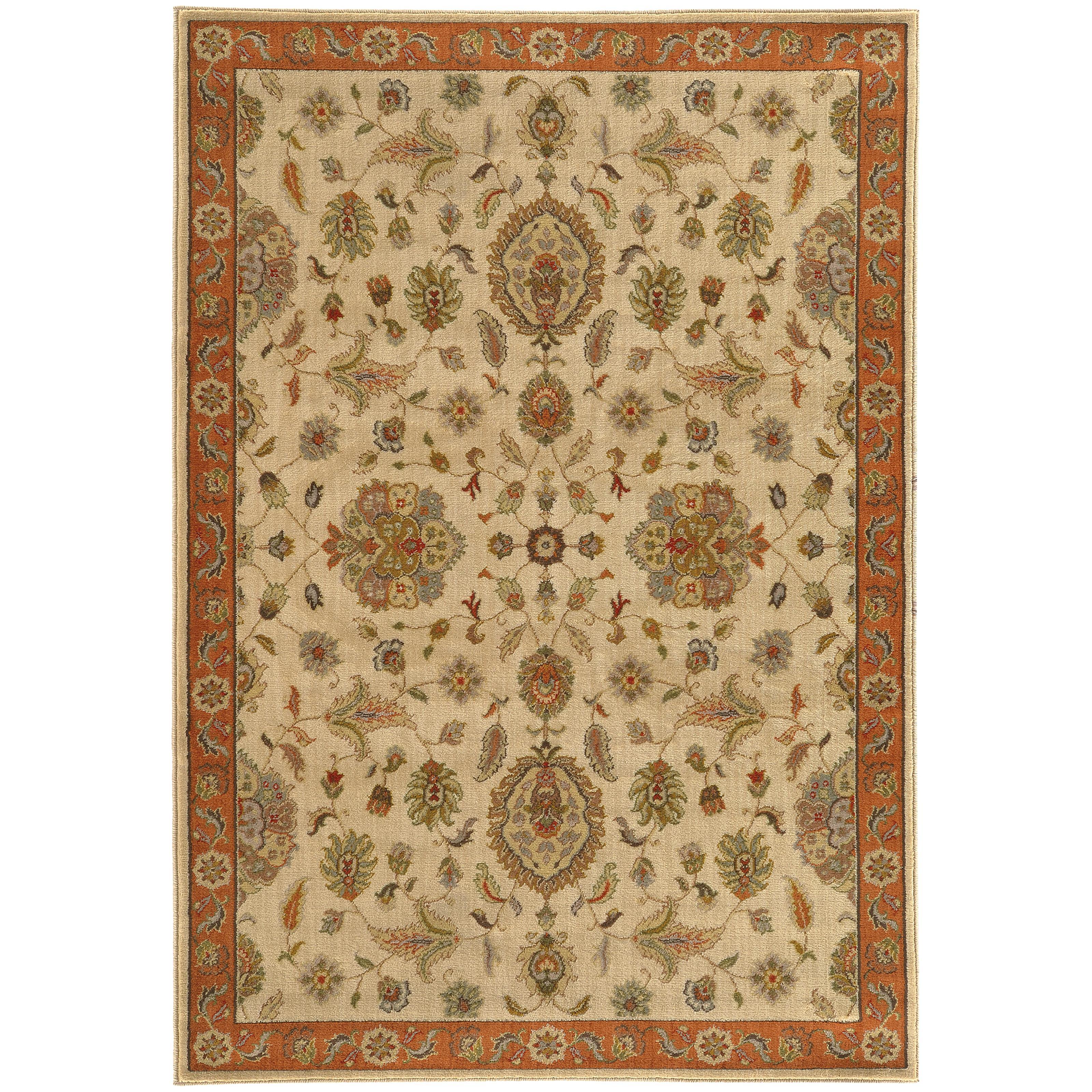 "Oriental Weavers Casablanca 9'10"" X 12'10"" Rug - Item Number: C5317B300390ST"
