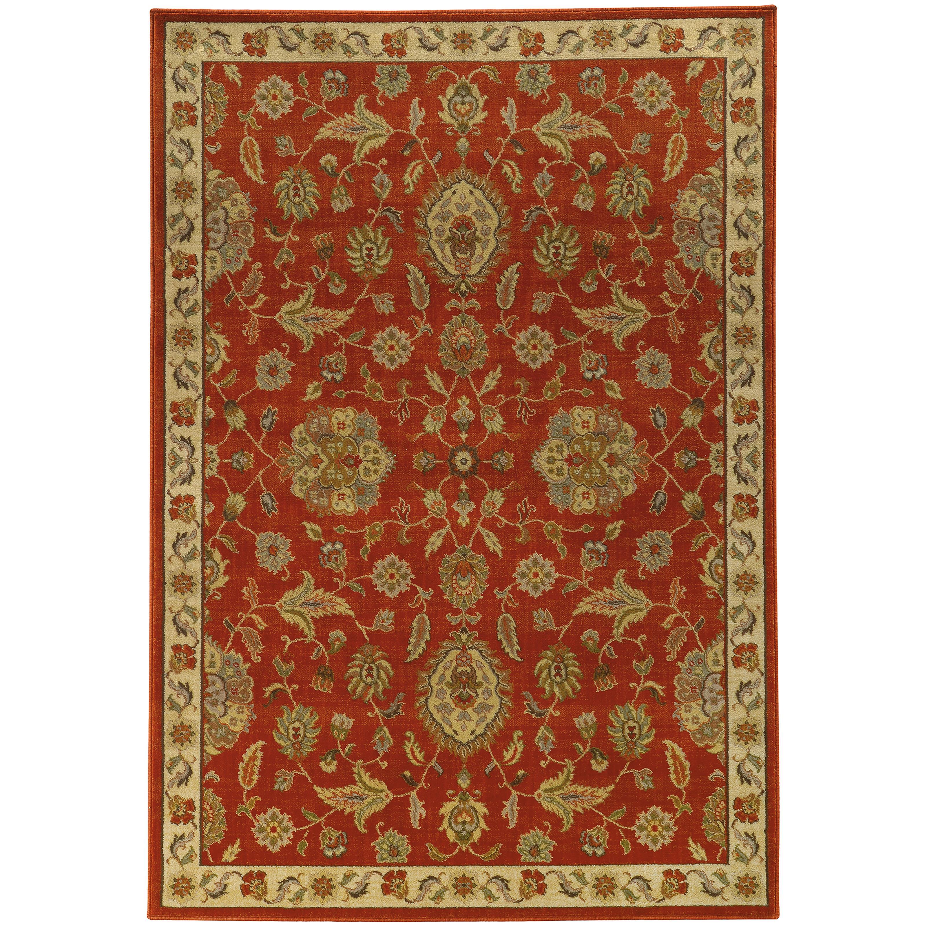 "Oriental Weavers Casablanca 3'10"" X  5' 5"" Rug - Item Number: C5317D117165ST"