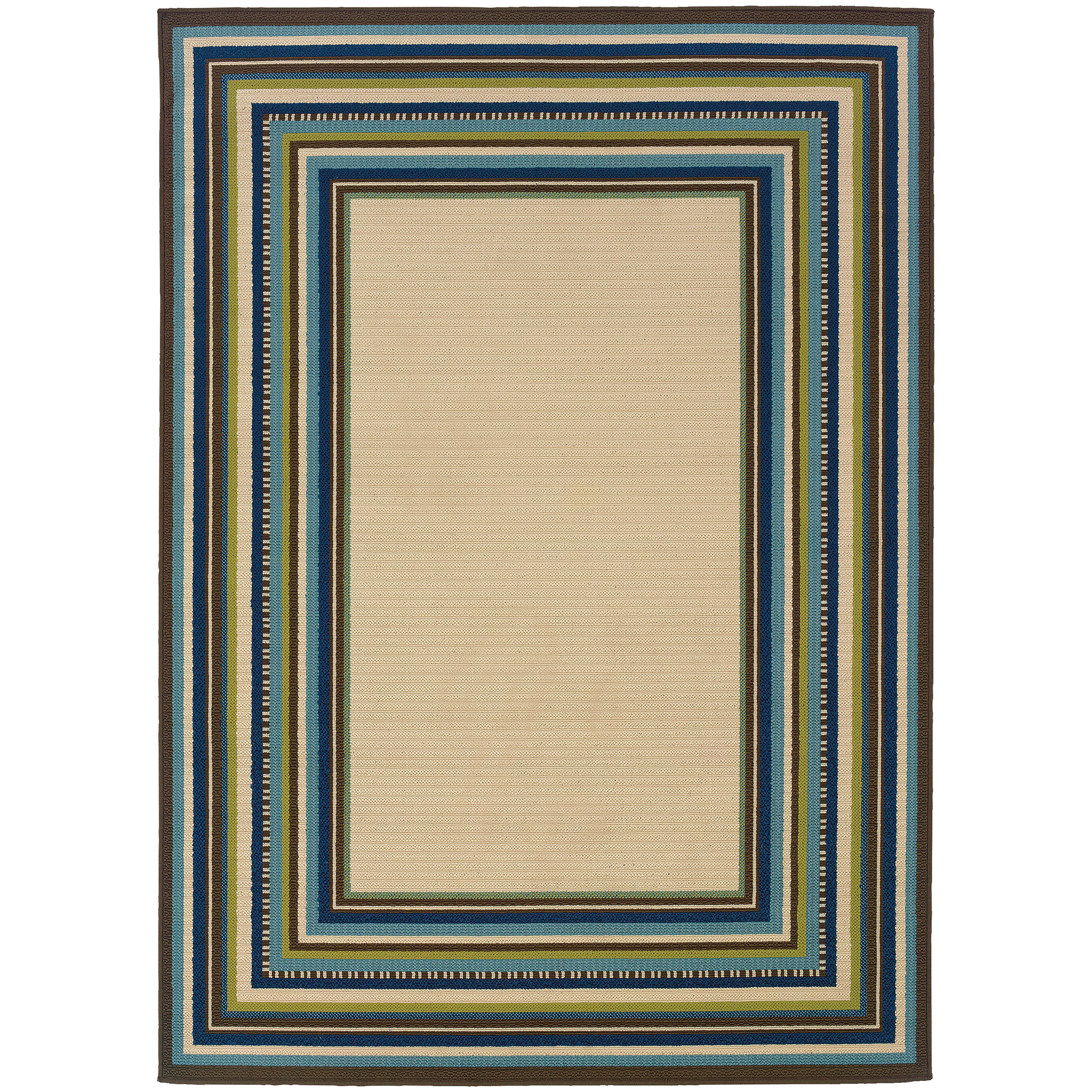 "Oriental Weavers Caspian 3' 7"" X  5' 6"" Rug - Item Number: C1003X110170ST"