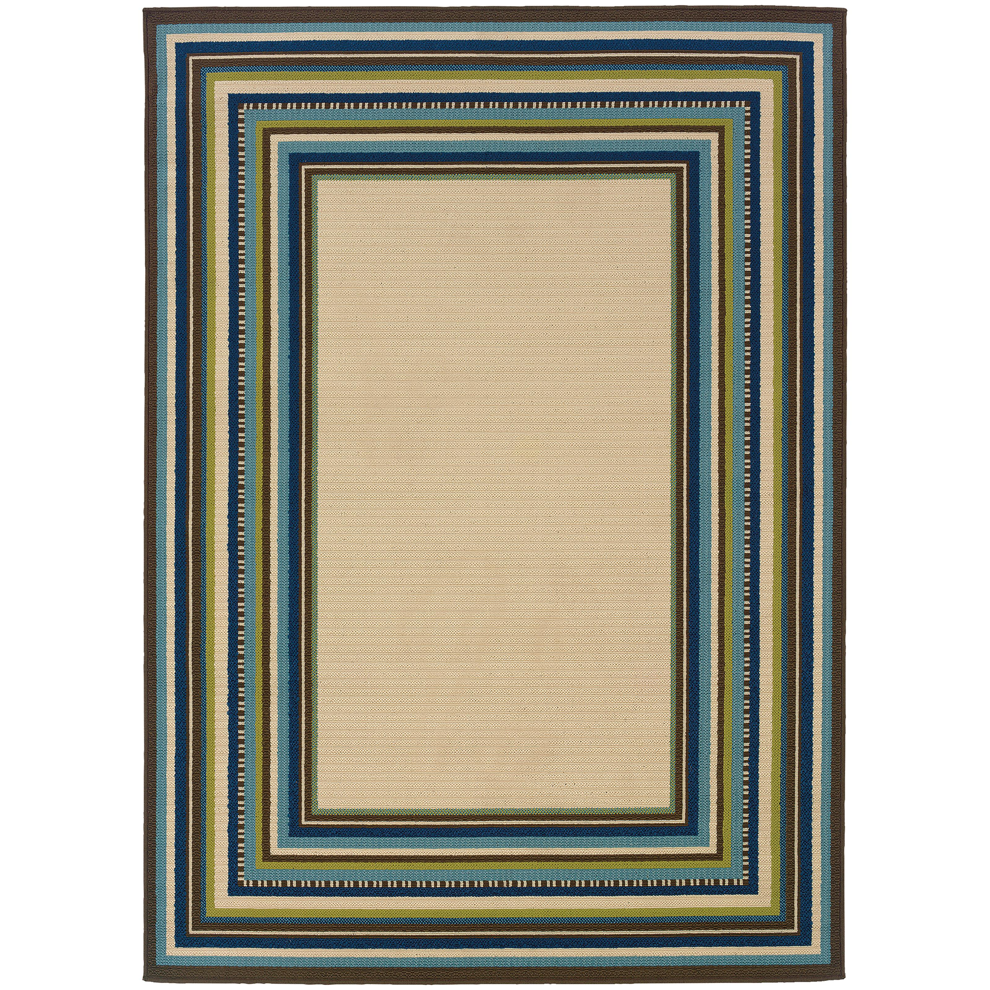 "Oriental Weavers Caspian 6' 7"" X  9' 6"" Rug - Item Number: C1003X200290ST"