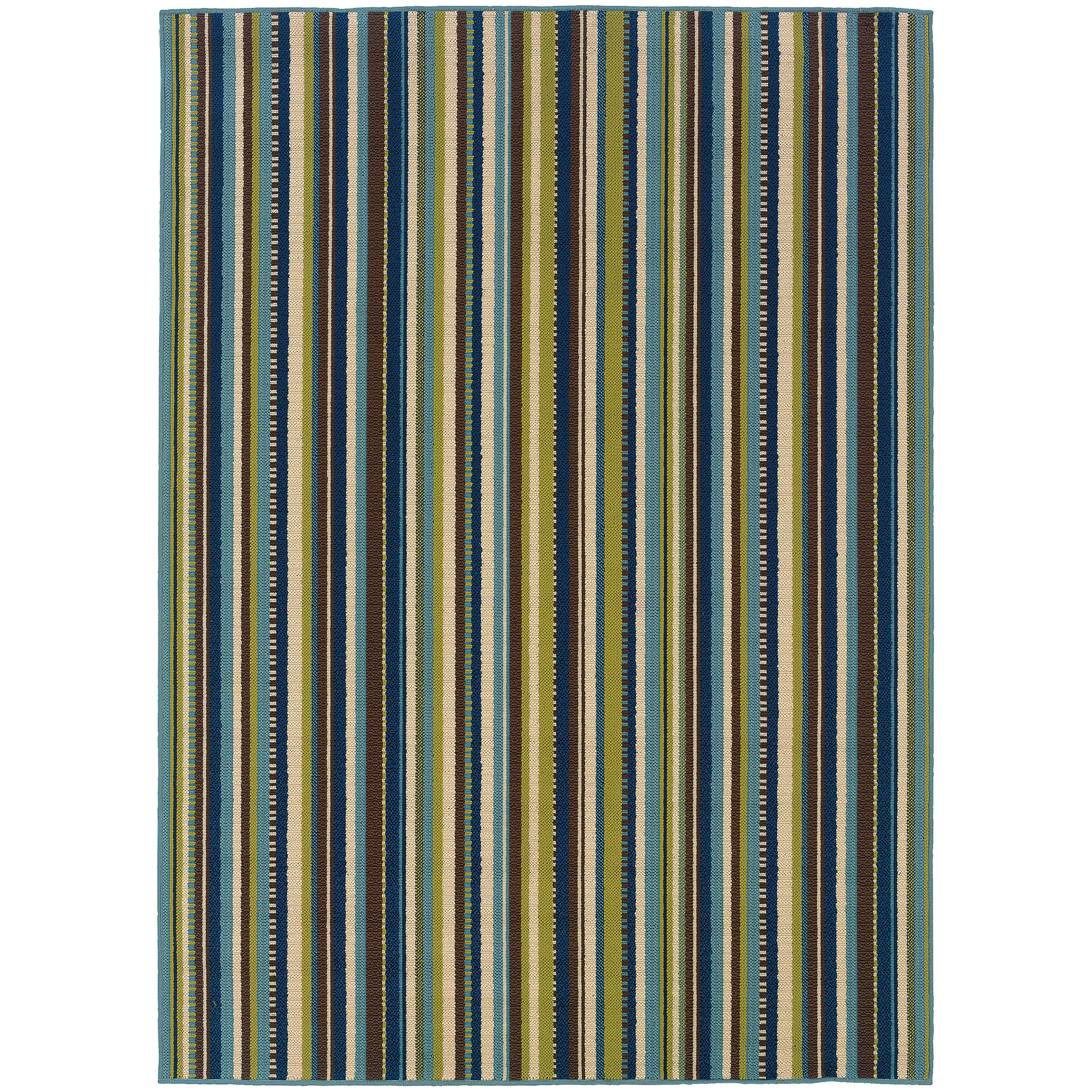 "Oriental Weavers Caspian 3' 7"" X  5' 6"" Rug - Item Number: C1004X110170ST"