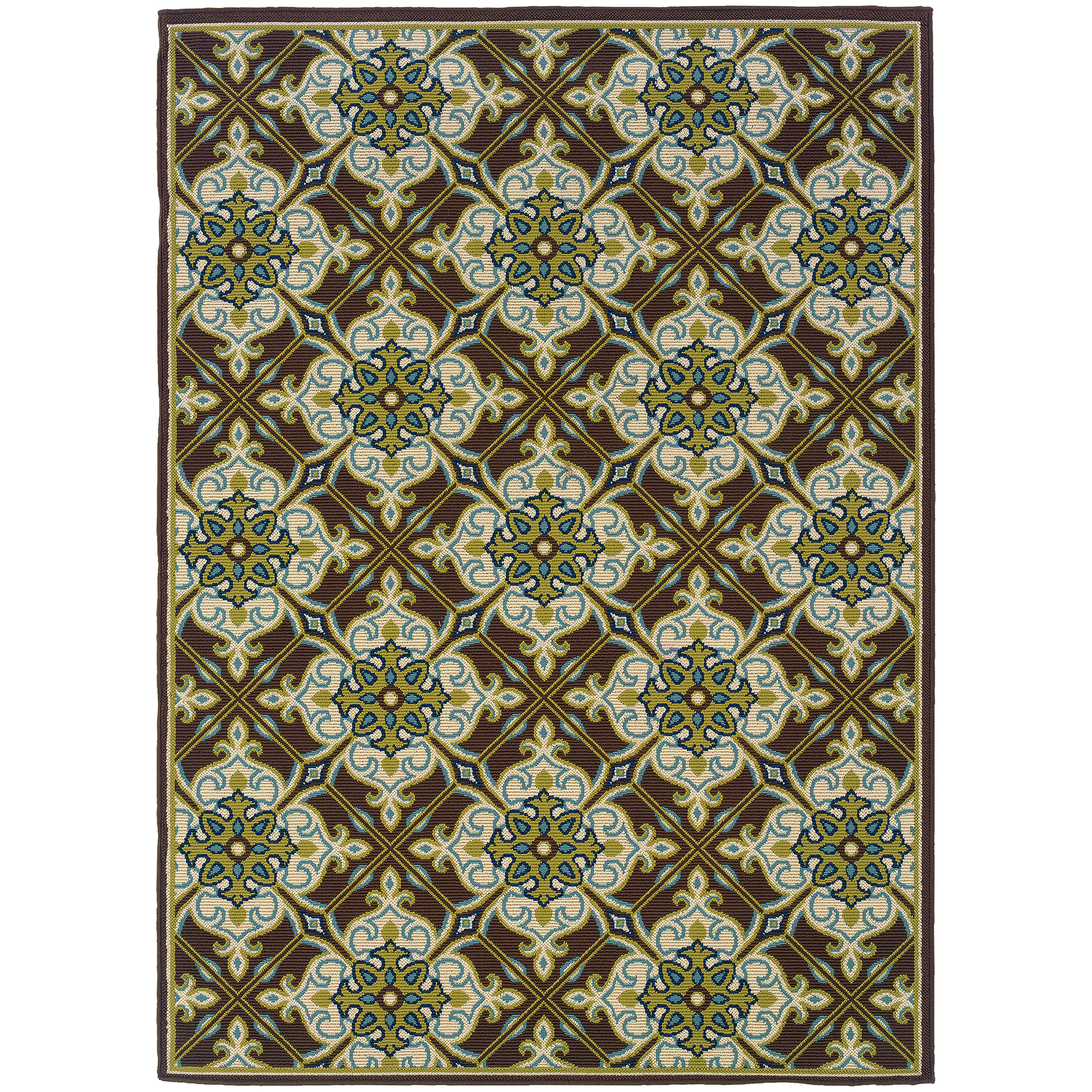 "Oriental Weavers Caspian 2' 3"" X  7' 6"" Rug - Item Number: C1005D068230ST"