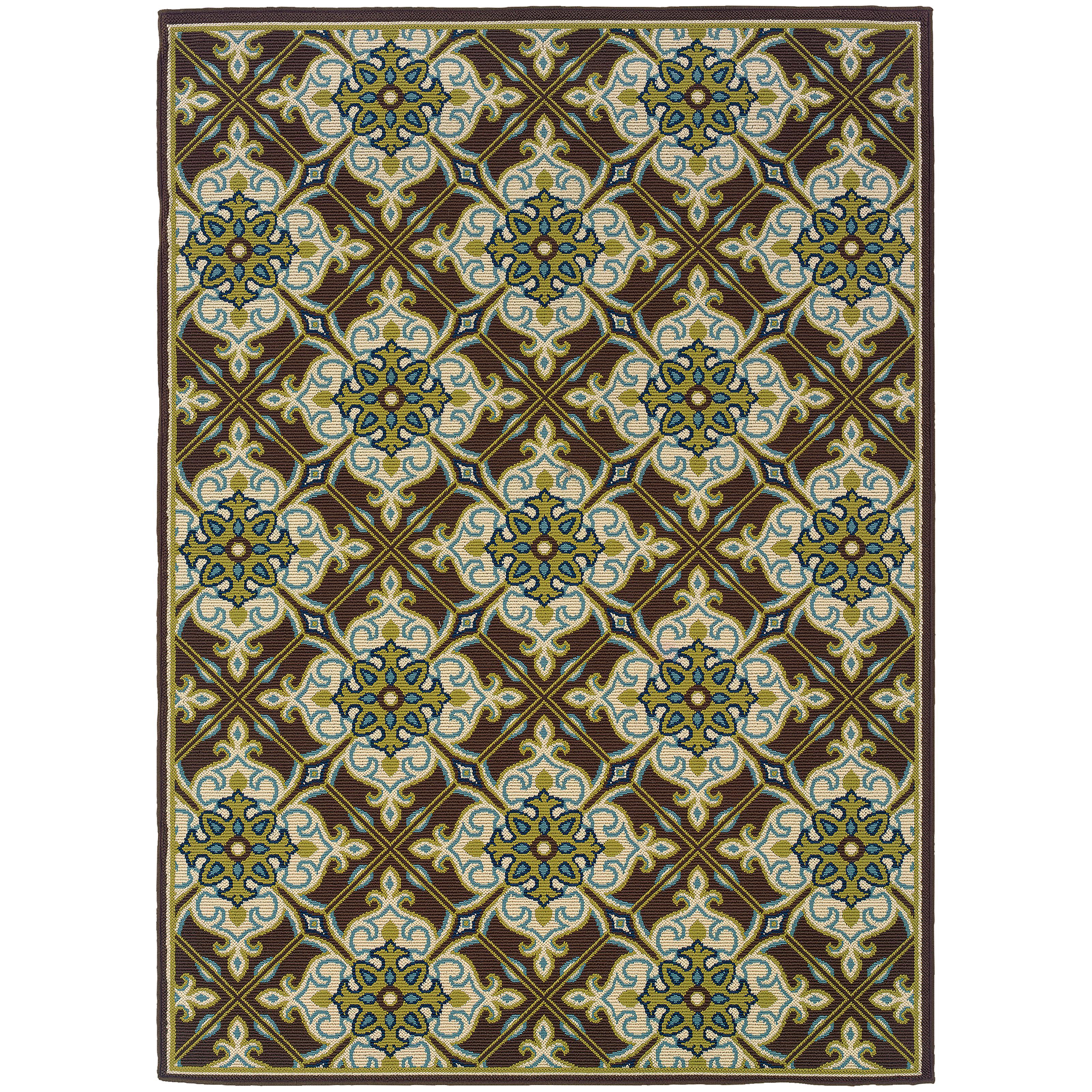 "Oriental Weavers Caspian 2' 5"" X  4' 5"" Rug - Item Number: C1005D073135ST"