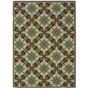 "Oriental Weavers Caspian 3' 7"" X  5' 6"" Rug - Item Number: C1005D100170ST"