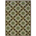 "Oriental Weavers Caspian 6' 7"" X  9' 6"" Rug - Item Number: C1005D200290ST"