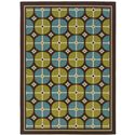 "Oriental Weavers Caspian 5' 3"" X  7' 6"" Rug - Item Number: C1447X160230ST"