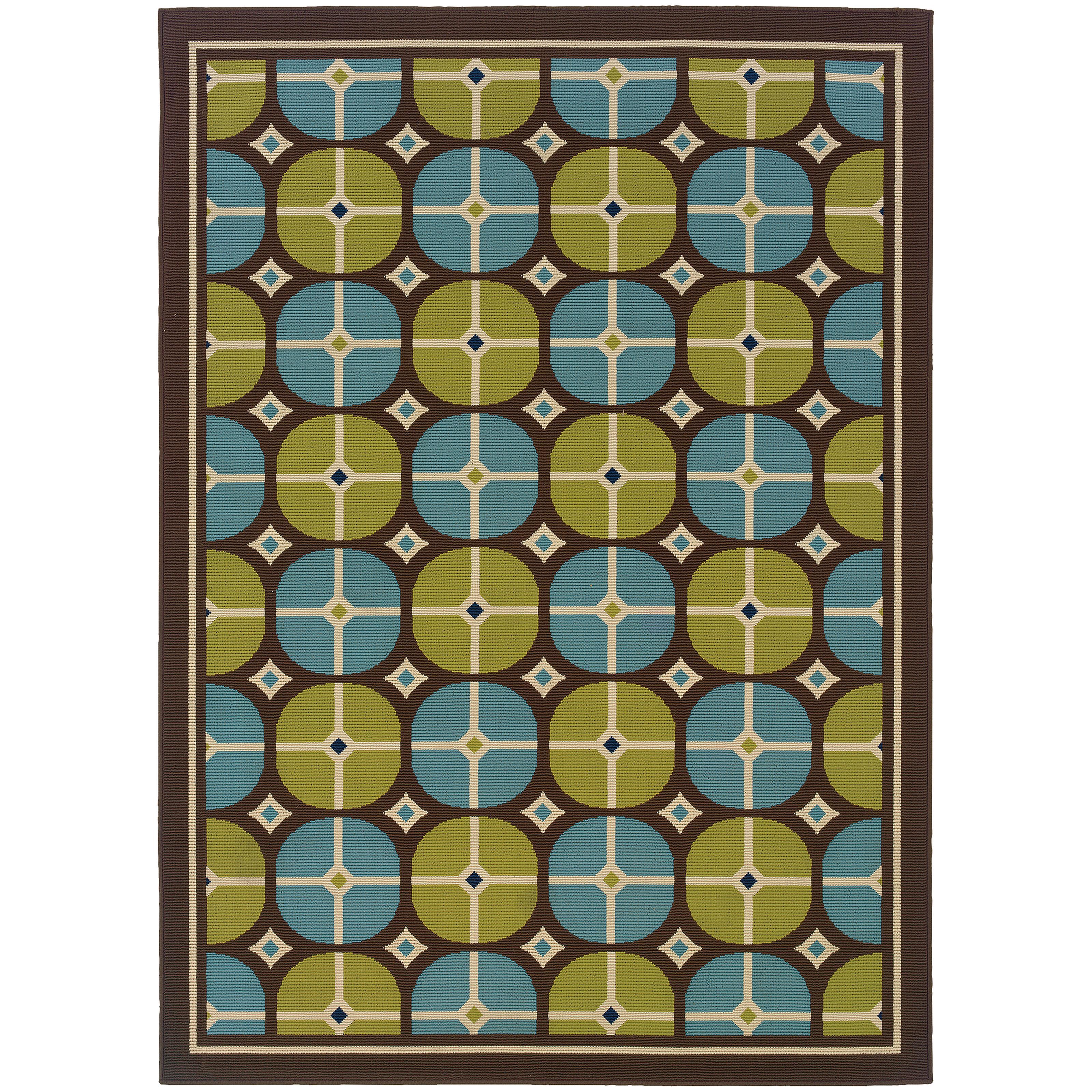 "Oriental Weavers Caspian 6' 7"" X  9' 6"" Rug - Item Number: C1447X200290ST"