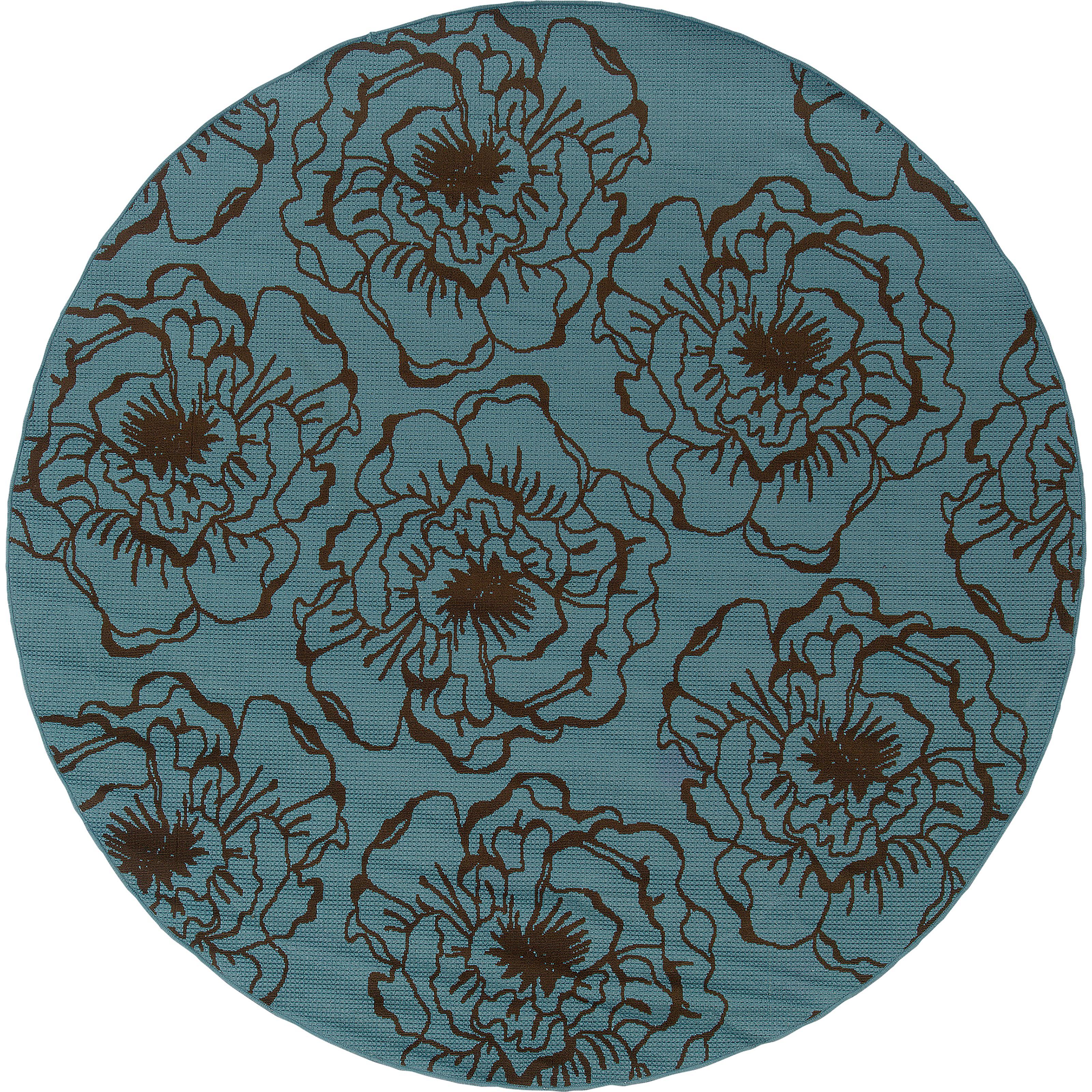 """Oriental Weavers Caspian 7'10"""" Rug - Item Number: C3065L240RDST"""