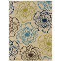 """Oriental Weavers Caspian 1' 9"""" X  3' 9"""" Rug - Item Number: C3065Y055115ST"""