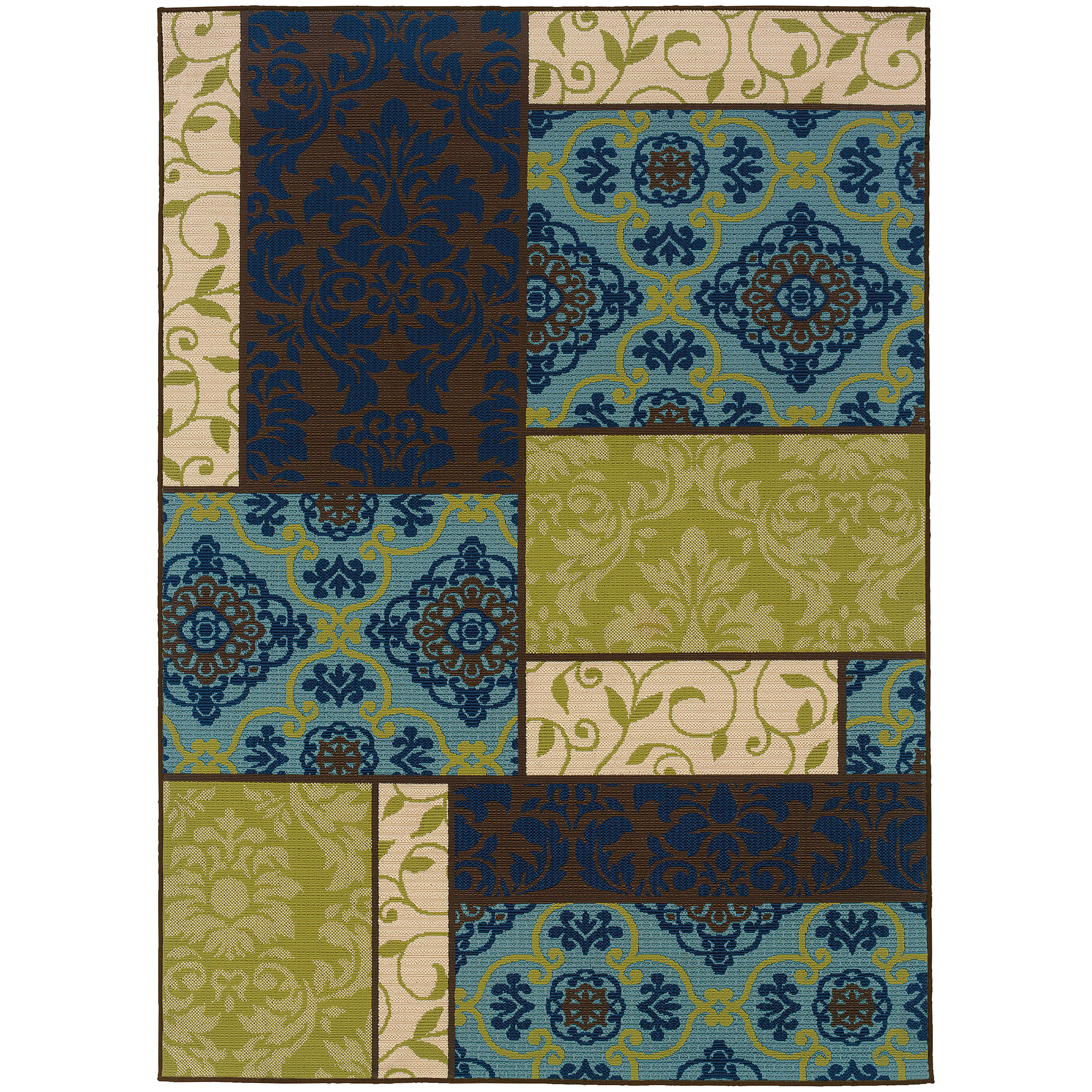 "Oriental Weavers Caspian 3' 7"" X  5' 6"" Rug - Item Number: C3066V110170ST"