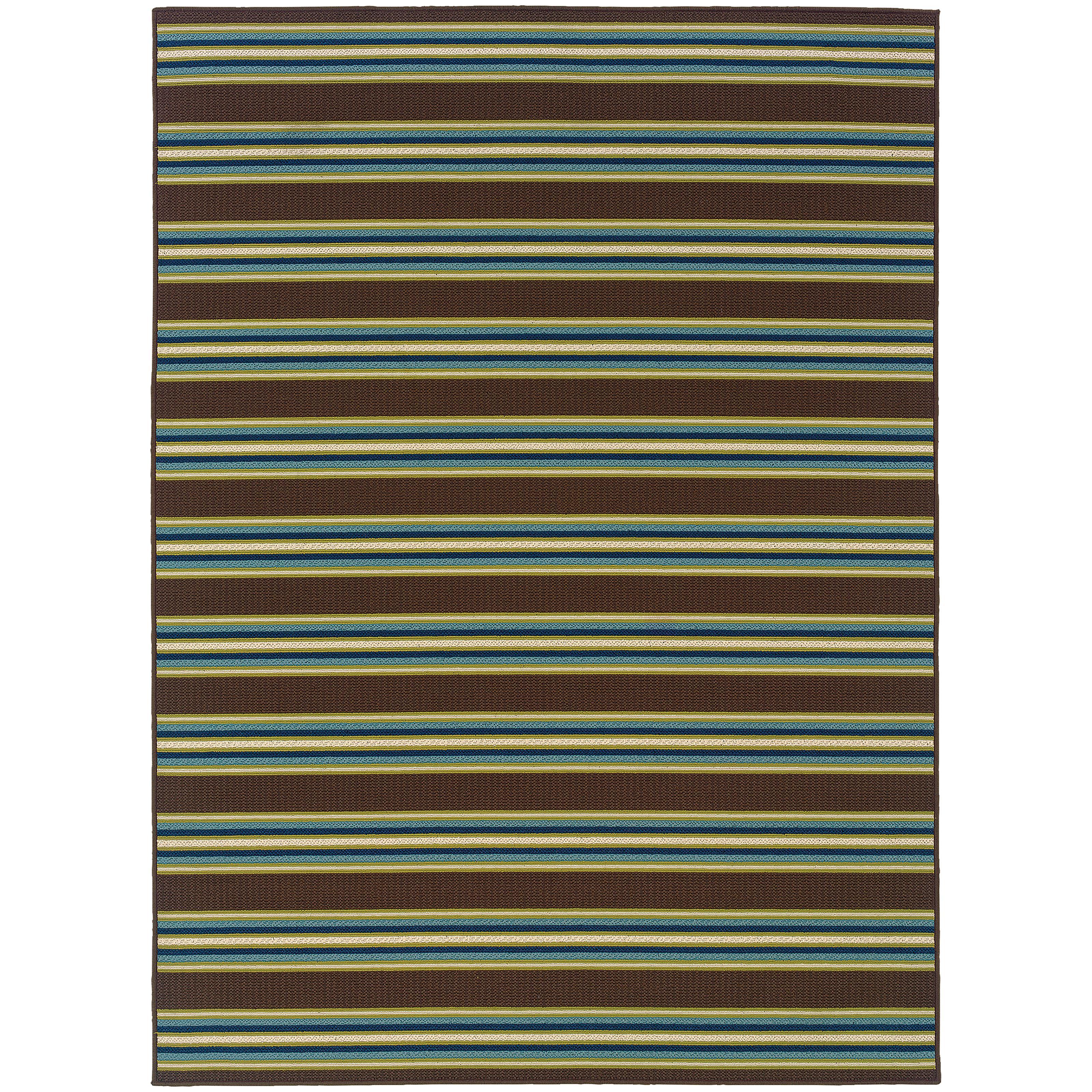 """Oriental Weavers Caspian 3' 7"""" X  5' 6"""" Rug - Item Number: C3330N110170ST"""