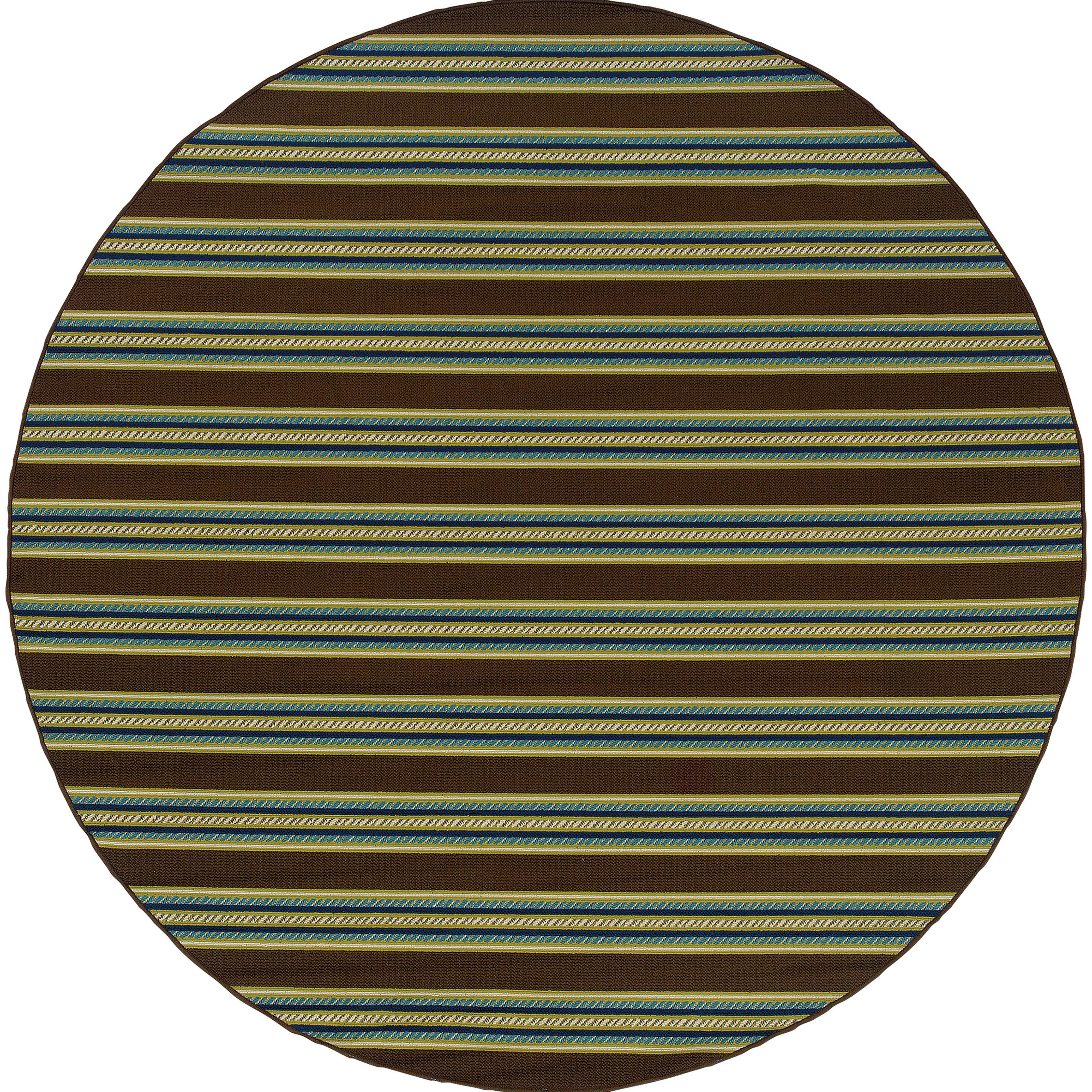"""Oriental Weavers Caspian 7'10"""" Rug - Item Number: C3330N240RDST"""
