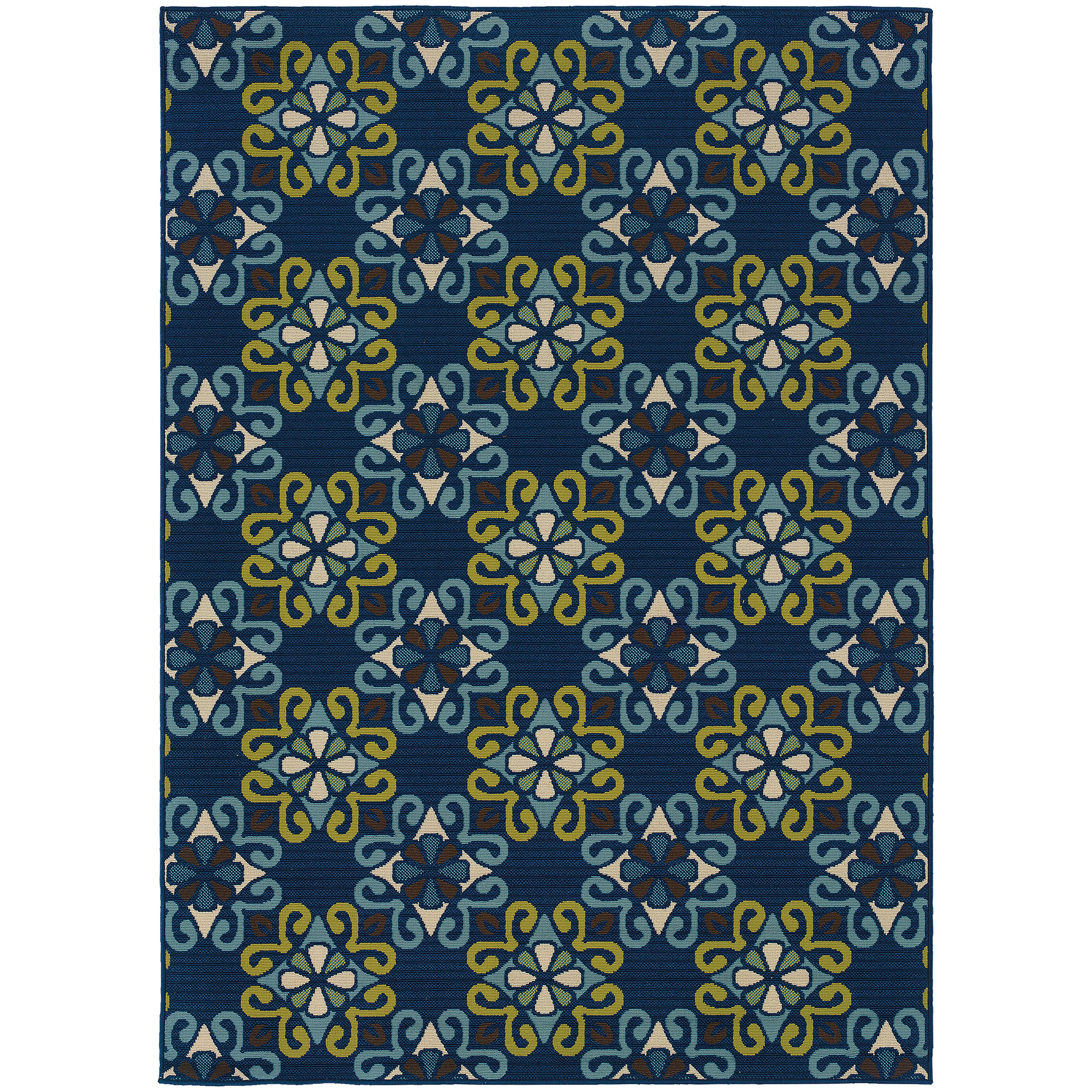 "Oriental Weavers Caspian 5' 3"" X  7' 6"" Rug - Item Number: C3331L160230ST"