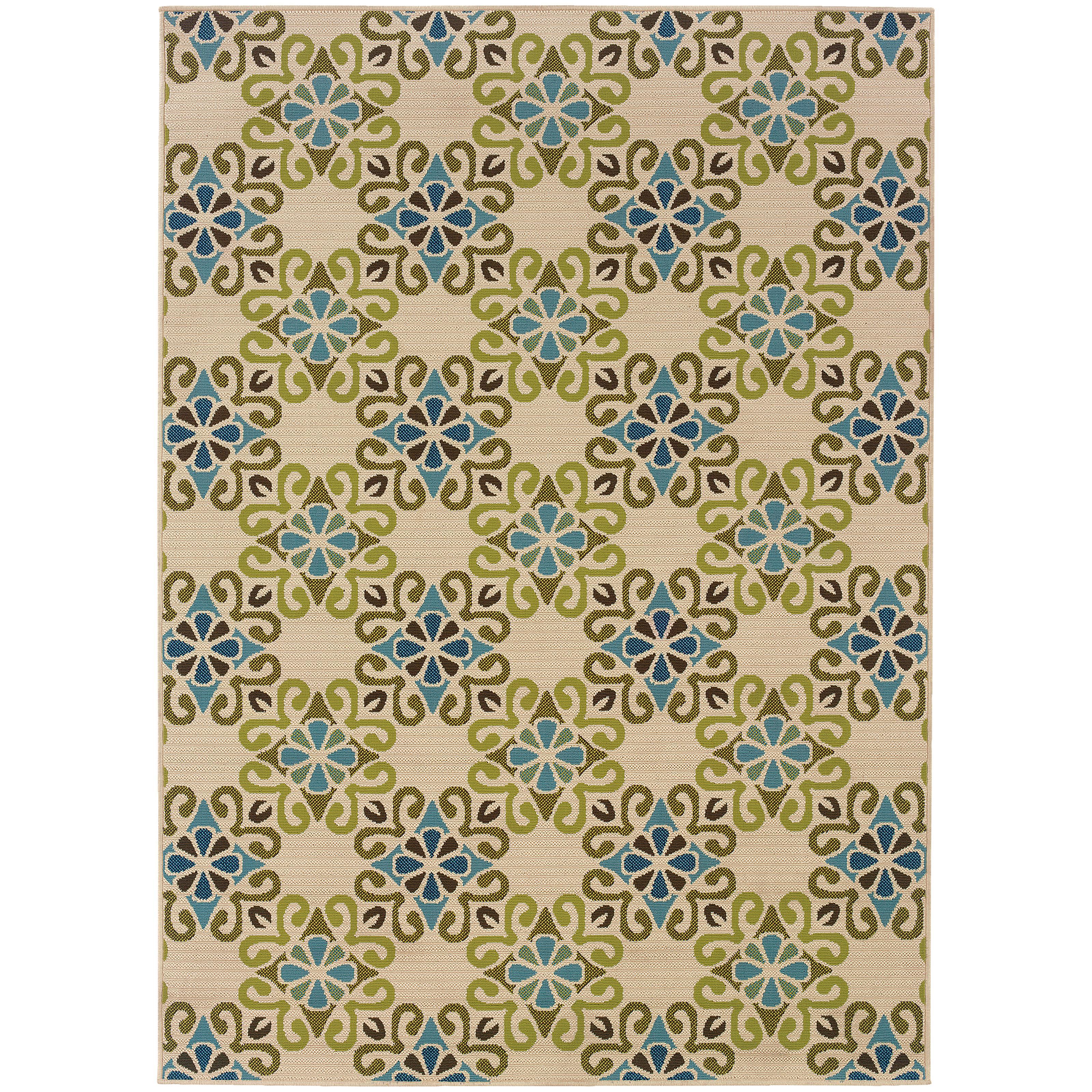 "Oriental Weavers Caspian 1' 9"" X  3' 9"" Rug - Item Number: C3331W055115ST"