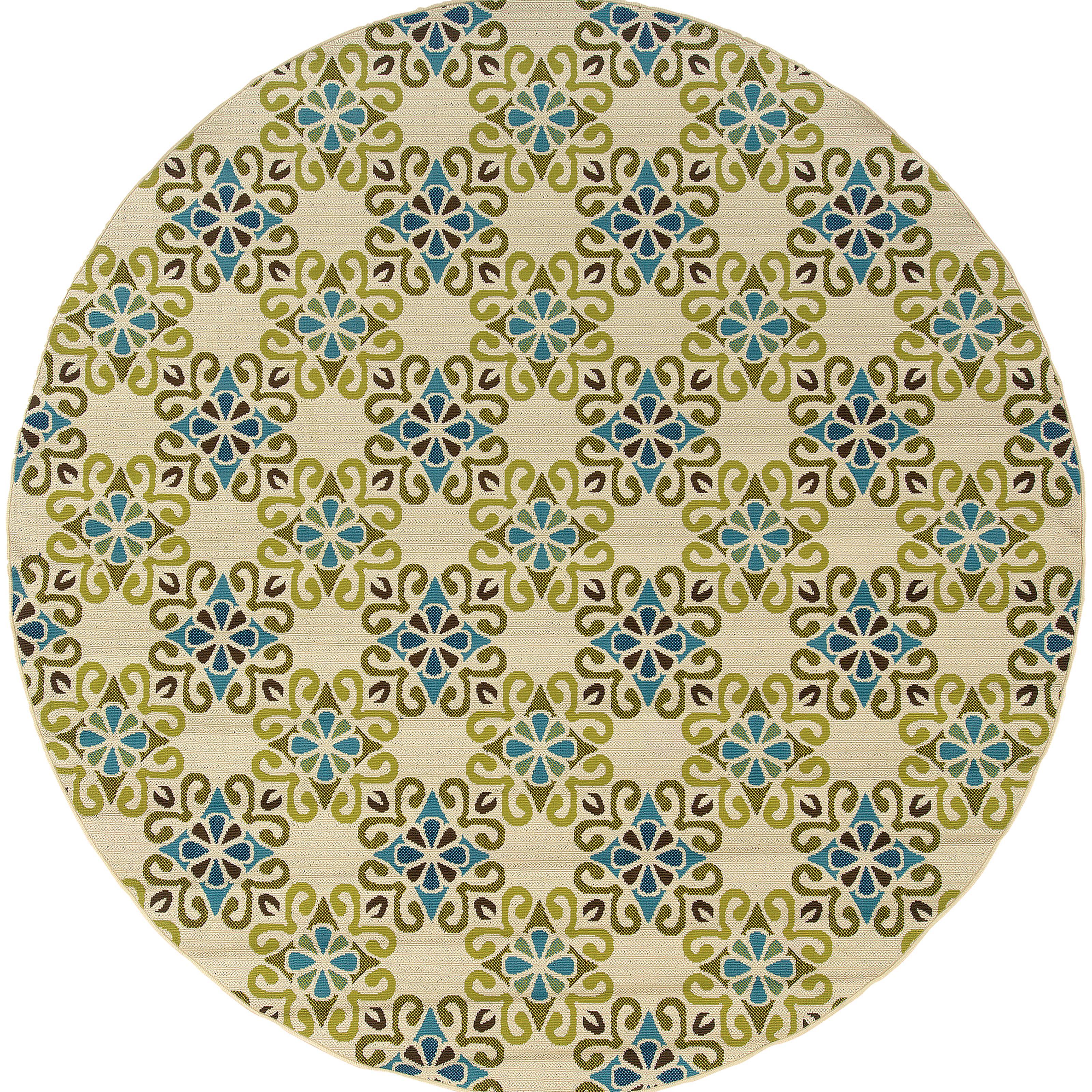 """Oriental Weavers Caspian 7'10"""" Rug - Item Number: C3331W240RDST"""