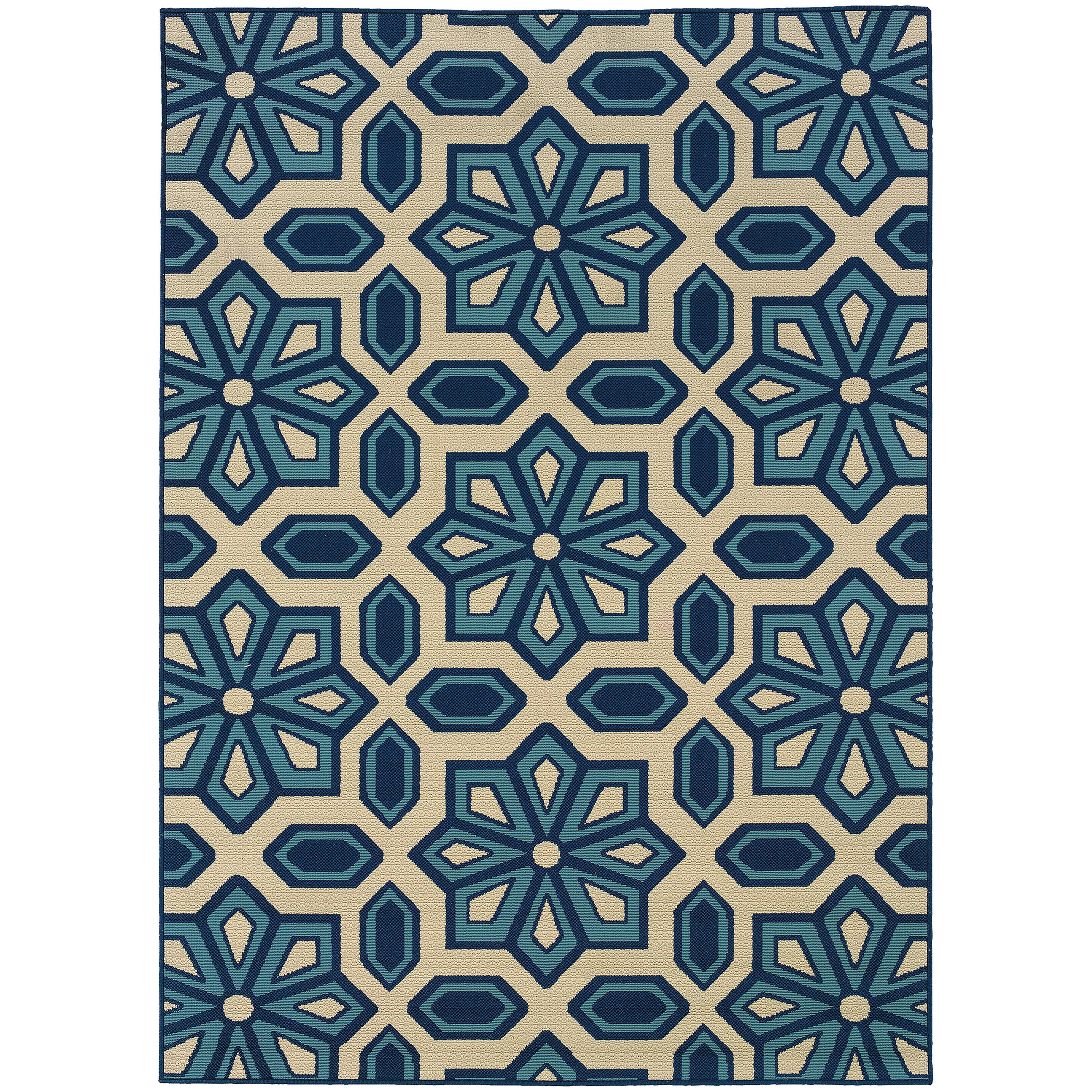 "Oriental Weavers Caspian 6' 7"" X  9' 6"" Rug - Item Number: C396W6200290ST"