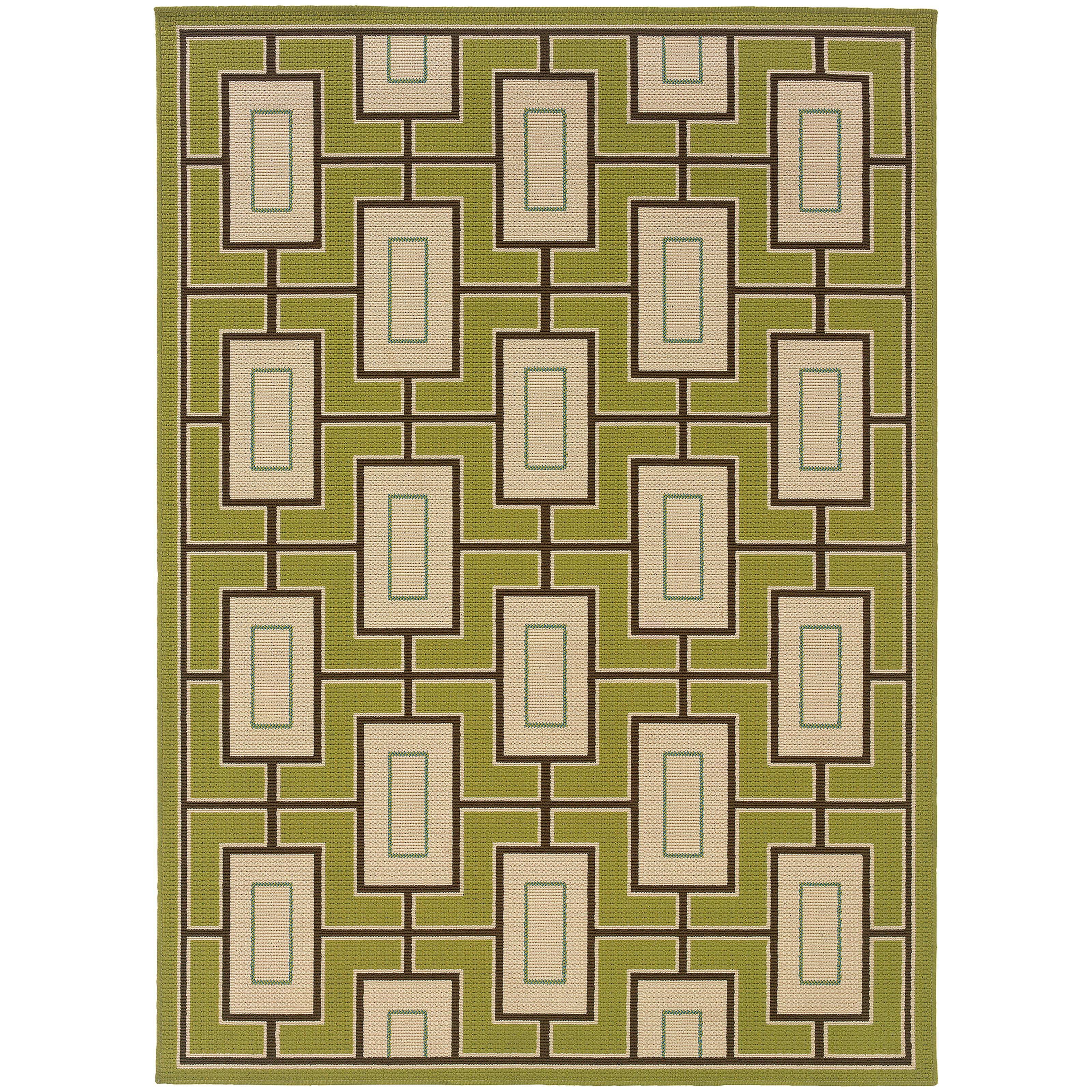 "Oriental Weavers Caspian 3' 7"" X  5' 6"" Rug - Item Number: C4928G110170ST"