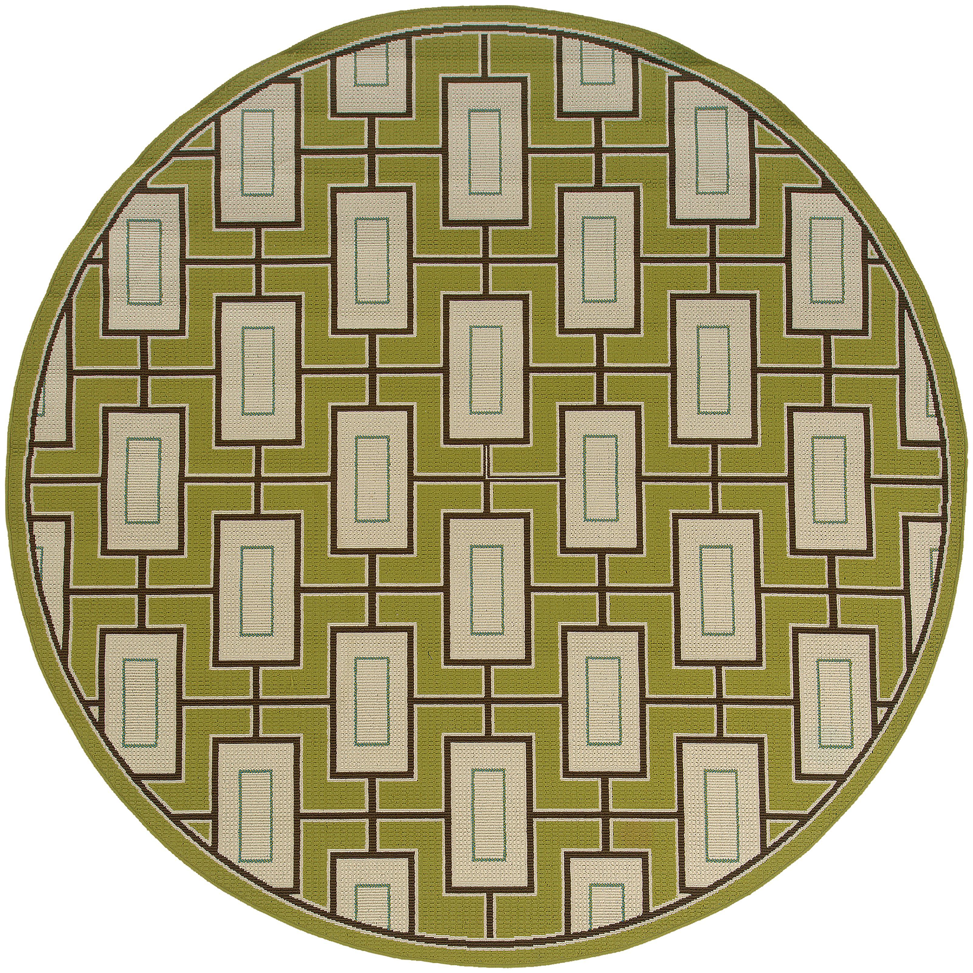 """Oriental Weavers Caspian 7'10"""" Rug - Item Number: C4928G240RDST"""