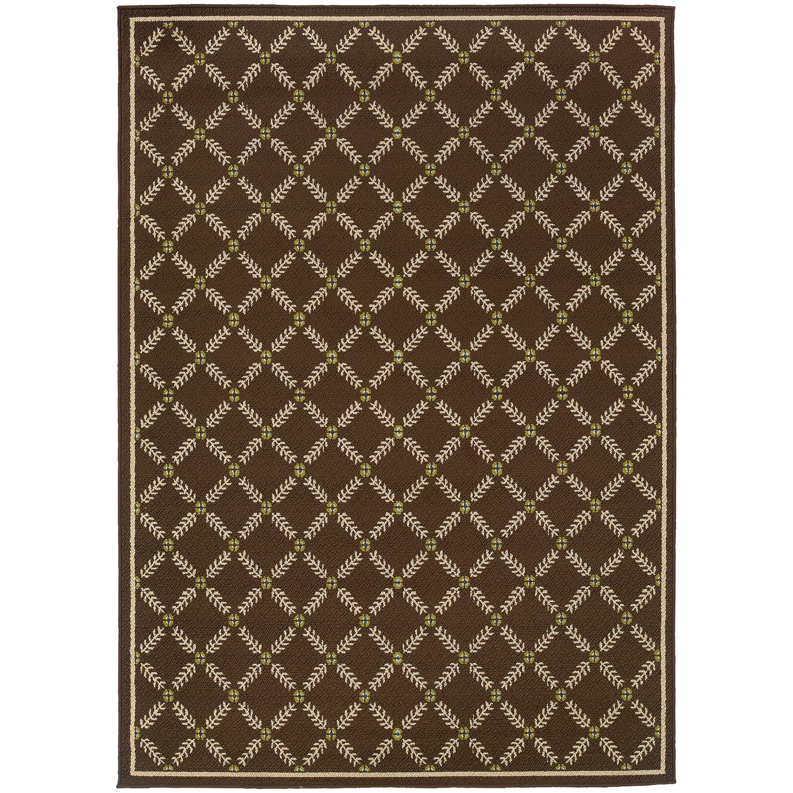 """Oriental Weavers Caspian 1' 9"""" X  3' 9"""" Rug - Item Number: C6997N055115ST"""