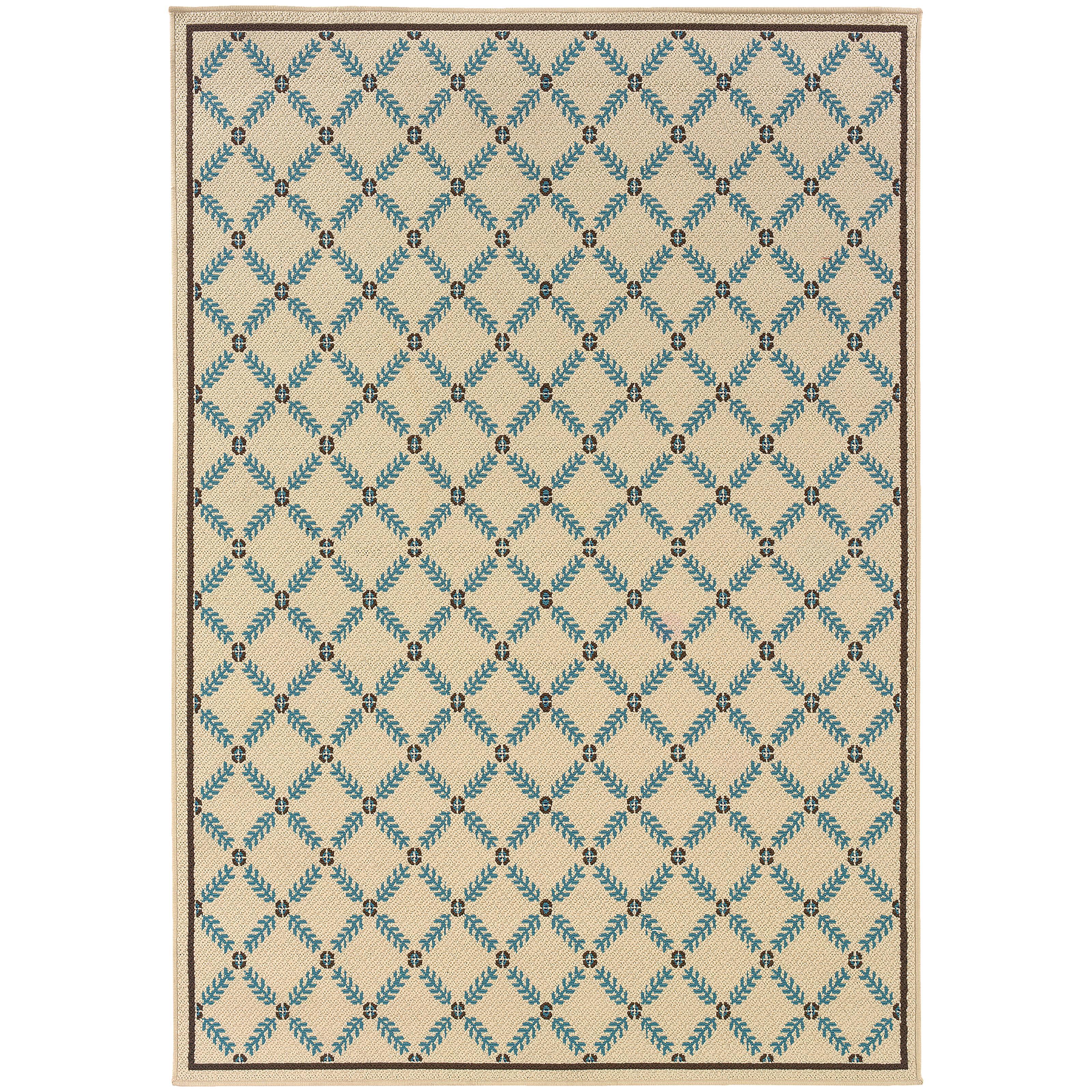 """Oriental Weavers Caspian 3' 7"""" X  5' 6"""" Rug - Item Number: C6997Y110170ST"""