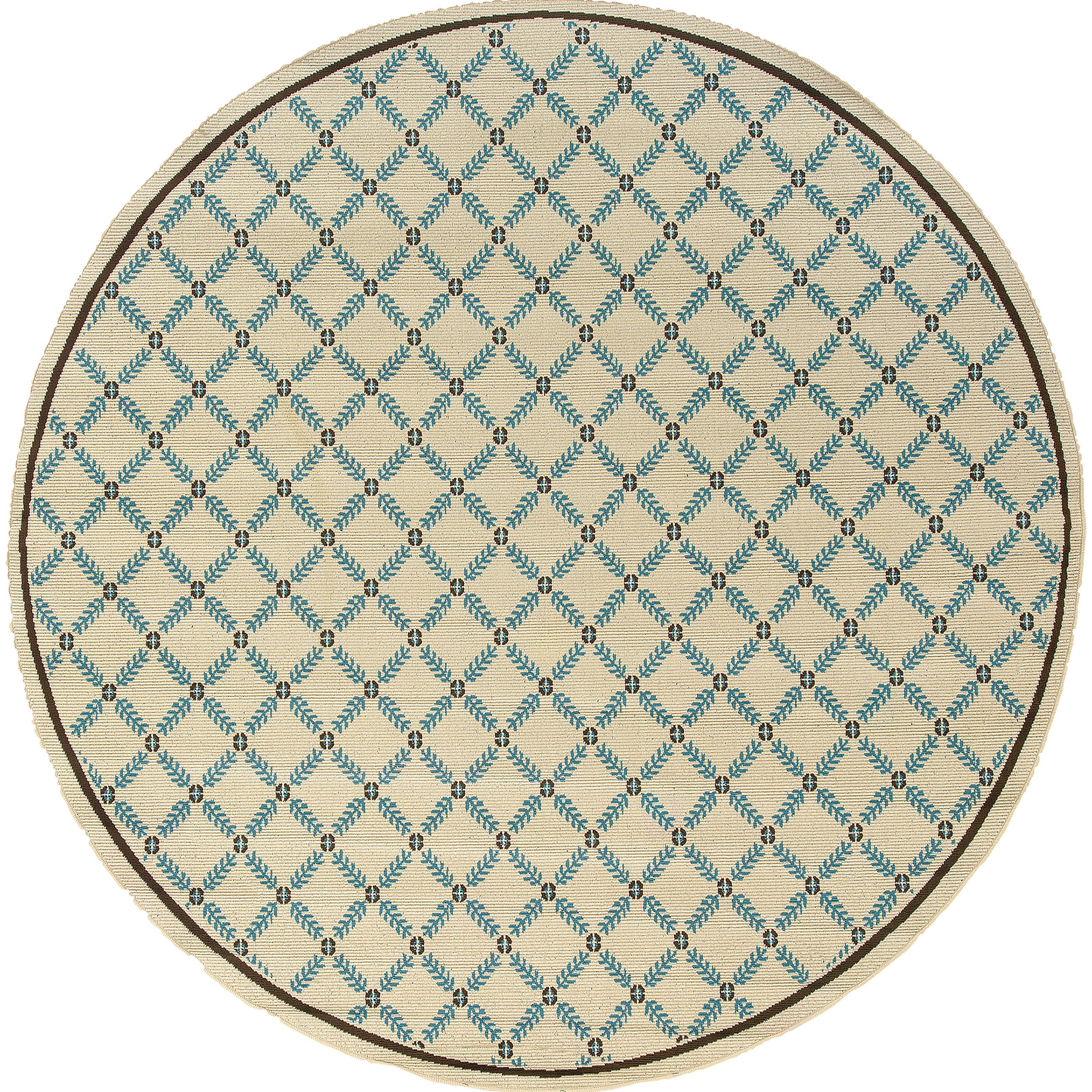 """Oriental Weavers Caspian 7'10"""" Rug - Item Number: C6997Y240RDST"""