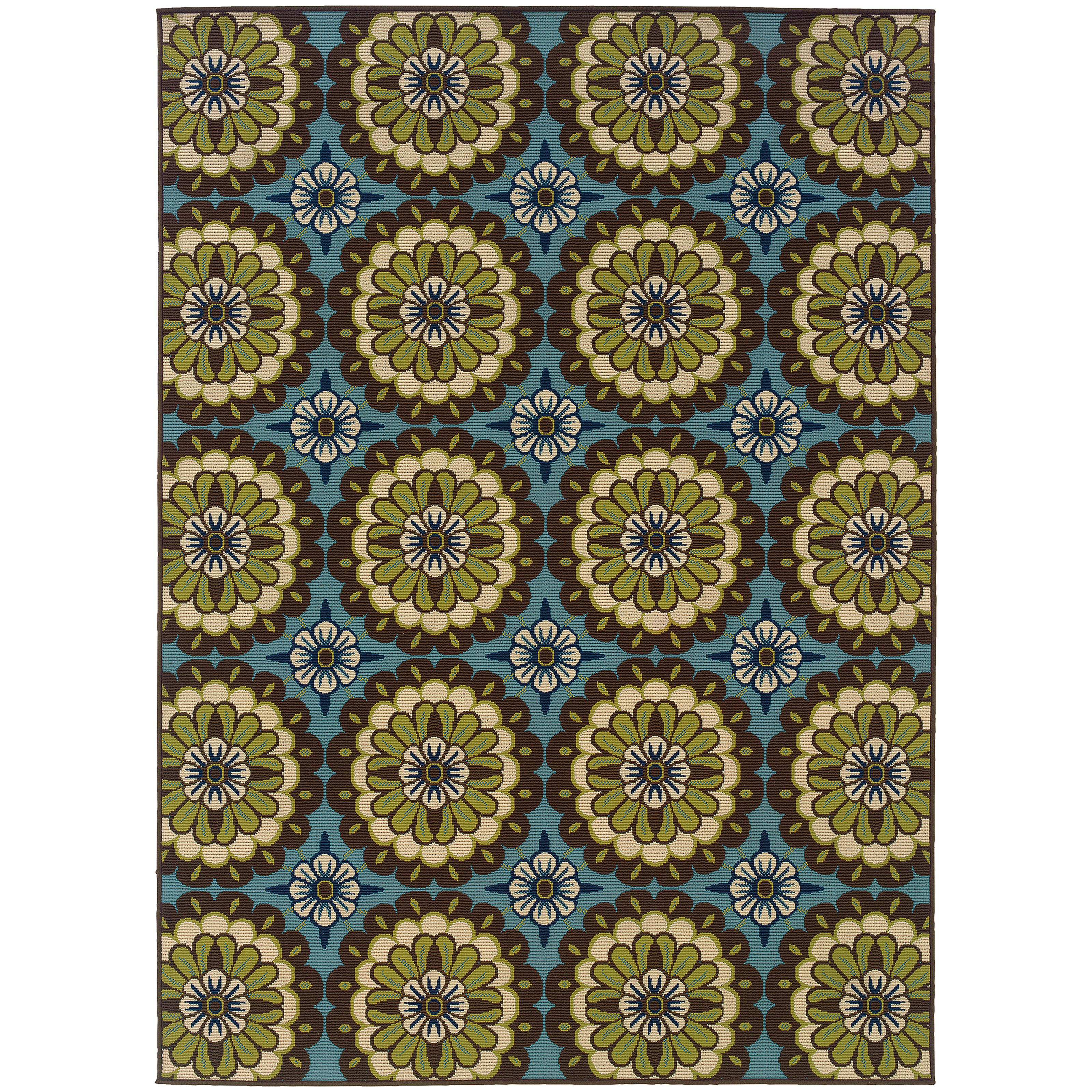"Oriental Weavers Caspian 2' 5"" X  4' 5"" Rug - Item Number: C8328L073135ST"