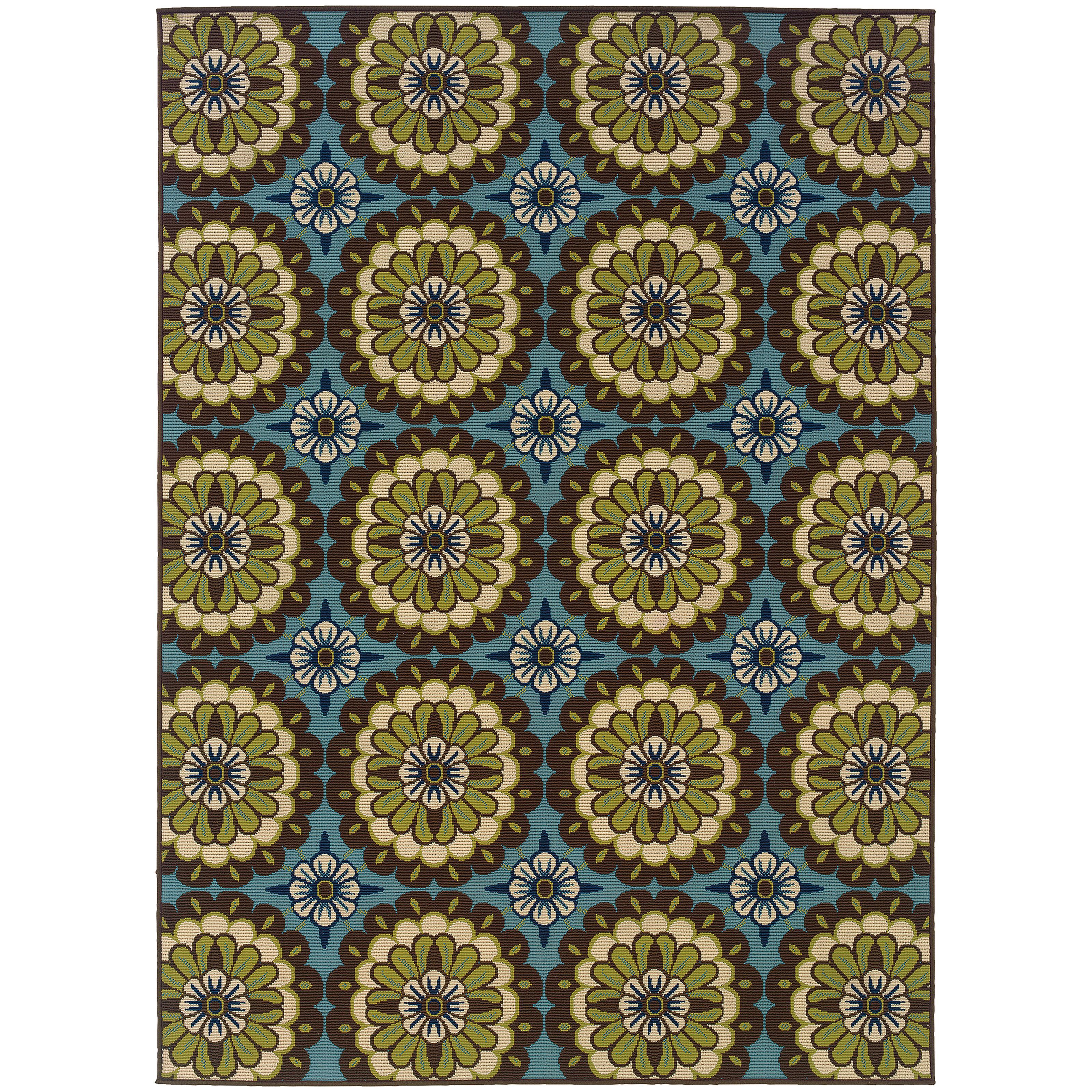 "Oriental Weavers Caspian 3' 7"" X  5' 6"" Rug - Item Number: C8328L110170ST"