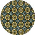 """Oriental Weavers Caspian 7'10"""" Rug - Item Number: C8328L240RDST"""