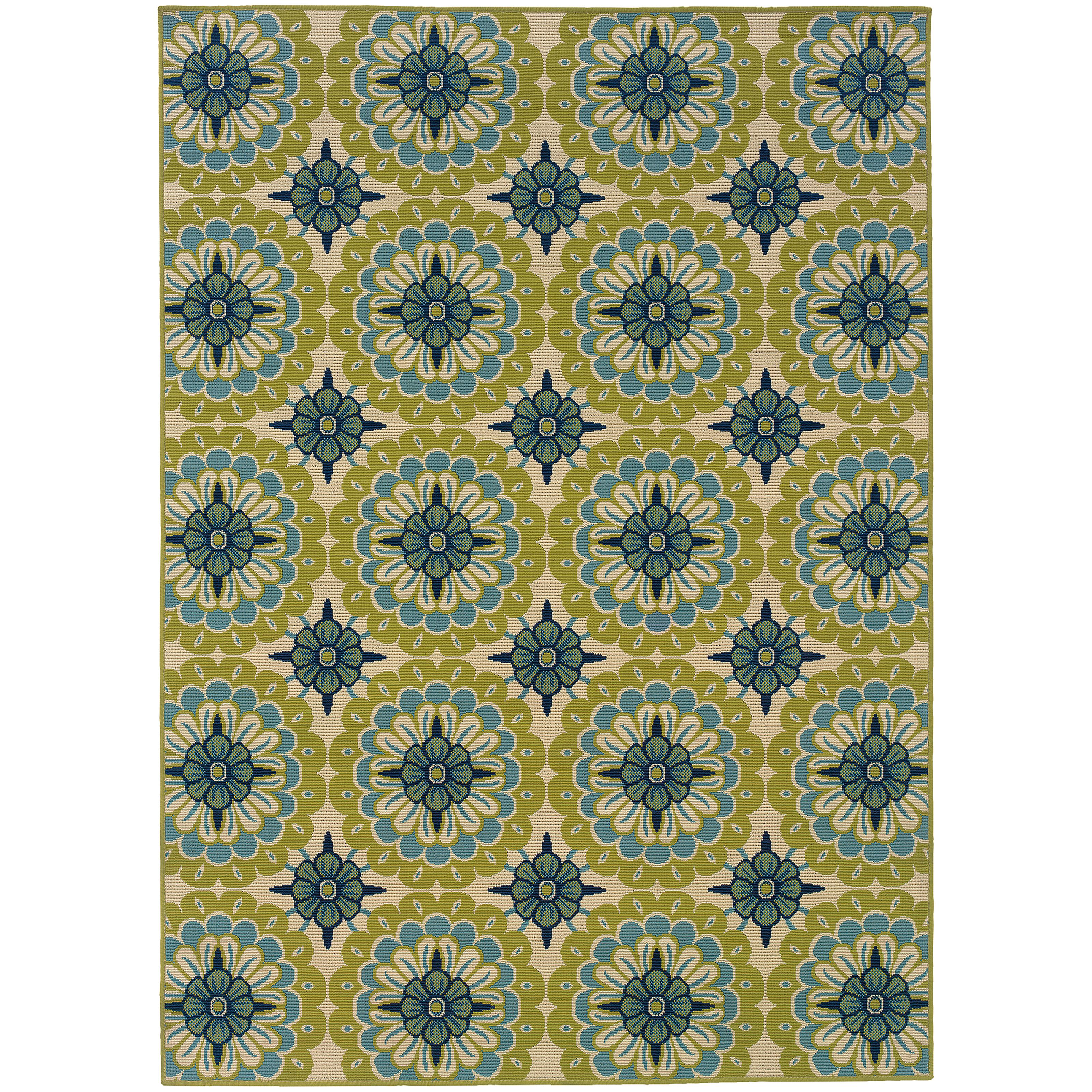 "Oriental Weavers Caspian 3' 7"" X  5' 6"" Rug - Item Number: C8328W110170ST"