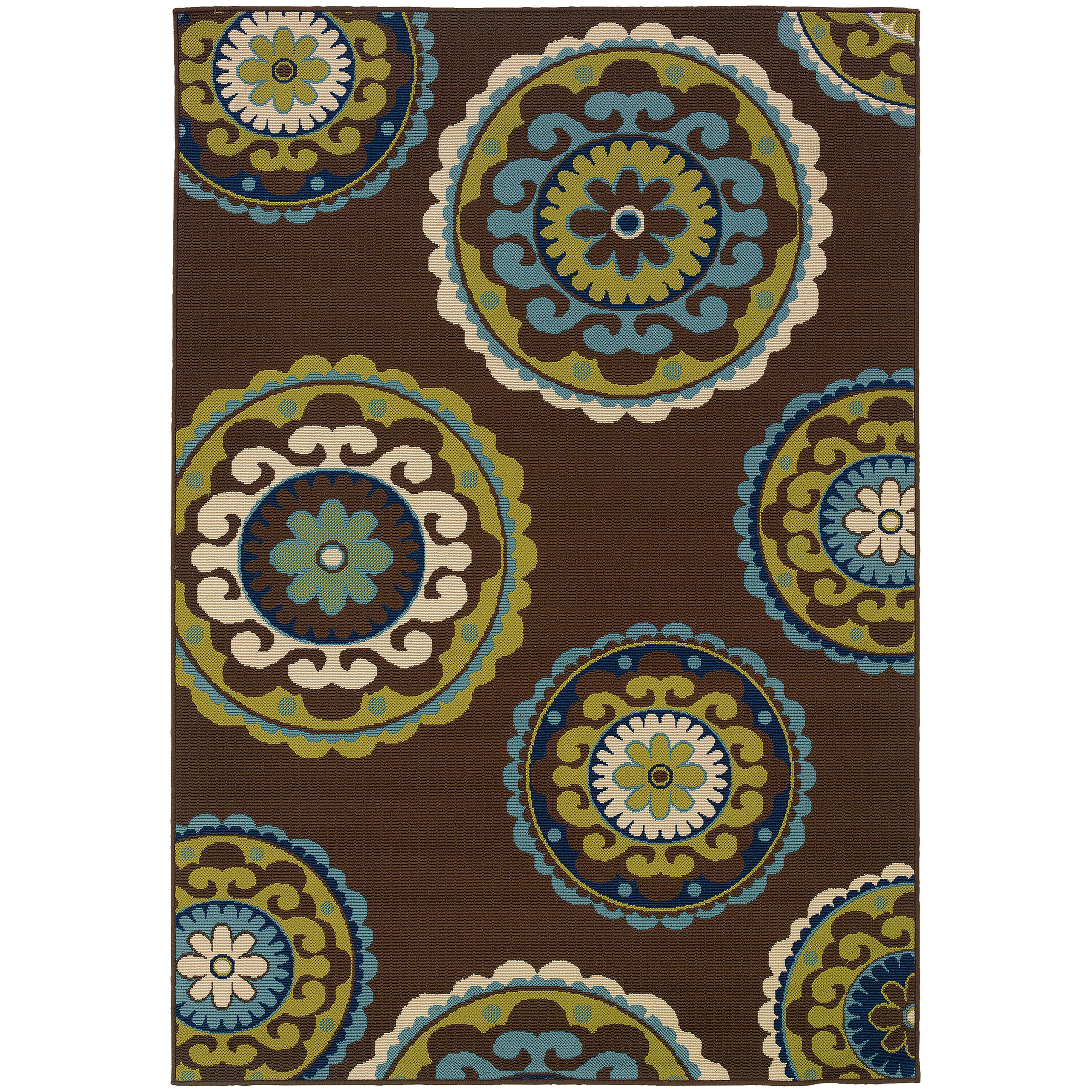 "Oriental Weavers Caspian 5' 3"" X  7' 6"" Rug - Item Number: C859D6160230ST"